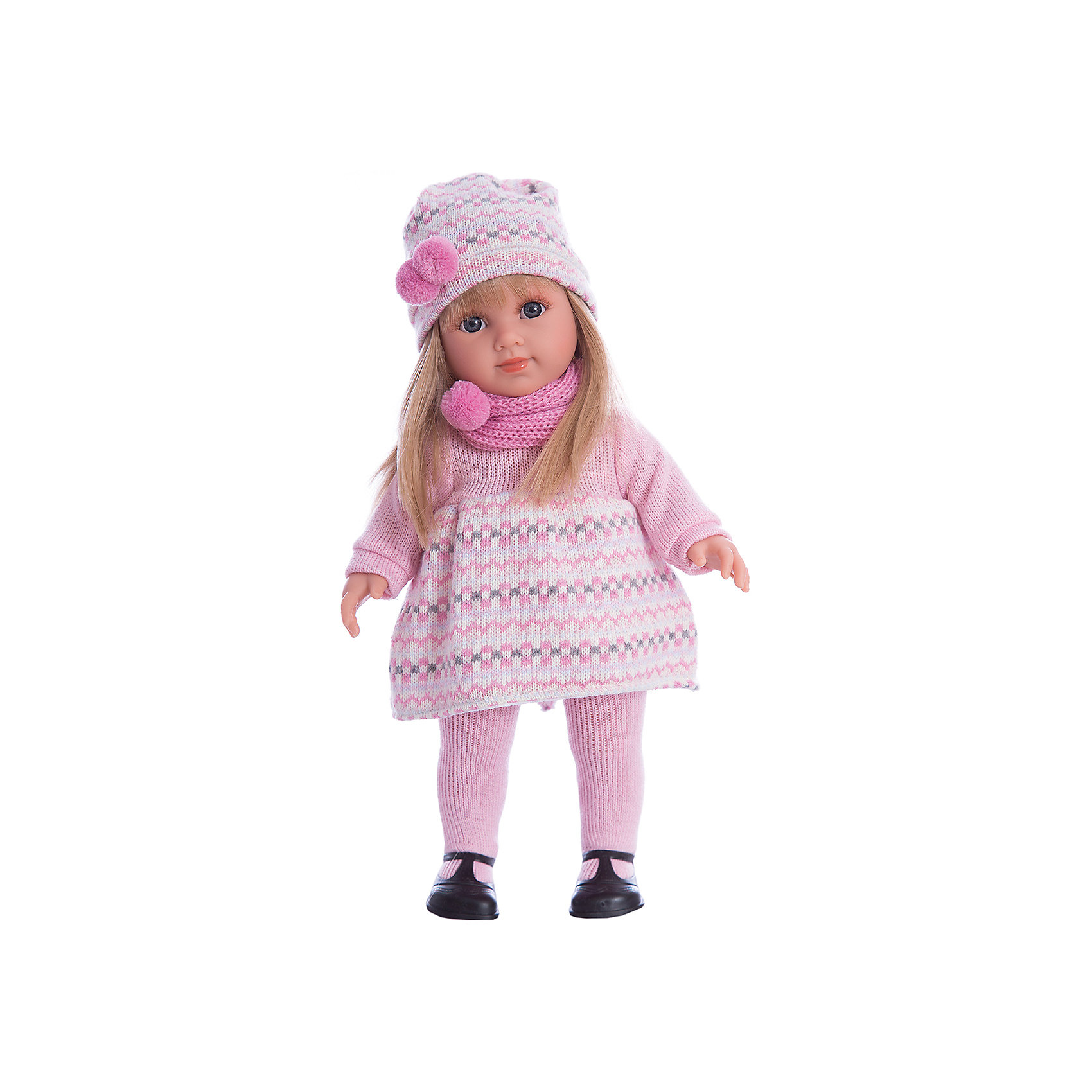 Кукла Елена, 35 см, LlorensБренды кукол<br>Характеристики товара:<br><br>- цвет: разноцветный;<br>- материал: винил, текстиль;<br>- мягконабивное тело, пластиковые руки, ноги, голова;<br>- комплектация: кукла, одежда, красивая коробка;<br>- размер куклы: 35 см.<br><br>Эти симпатичные куклы от известного испанского бренда не оставят девочку равнодушной! Какая девочка сможет отказаться поиграть с куклой, которая выглядит и ведет себя почти как настоящий ребенок?! Игрушка отлично детализирована, очень качественно выполнена, поэтому она станет замечательным подарком ребенку. <br>Кукла красиво одета, у неё шелковистые волосы, которые можно расчесывать. Продается она в красивой подарочной коробке. Изделие произведено из высококачественного материала, безопасного для детей.<br><br>Куклу Елена, 35 см, от бренда Llorens можно купить в нашем интернет-магазине.<br><br>Ширина мм: 22<br>Глубина мм: 43<br>Высота мм: 10<br>Вес г: 950<br>Возраст от месяцев: 36<br>Возраст до месяцев: 84<br>Пол: Женский<br>Возраст: Детский<br>SKU: 5086943