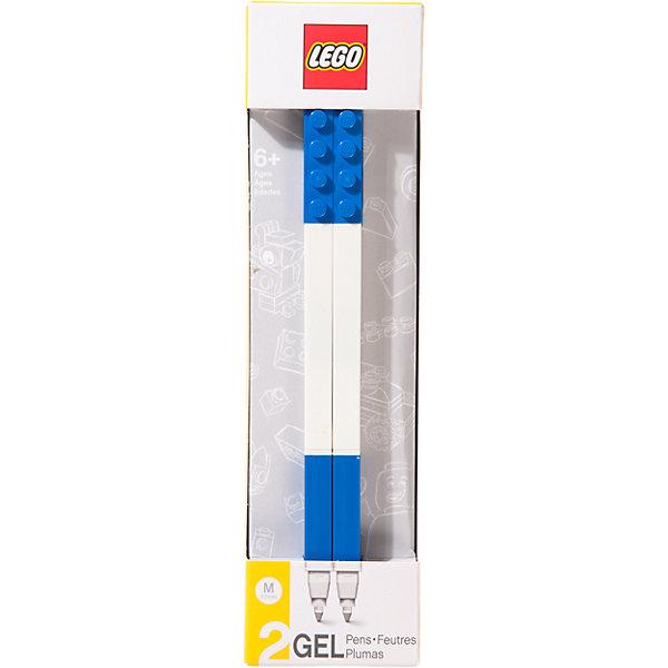 Набор гелевых ручек, 2 шт., LEGOLEGO Товары для фанатов<br>Набор гелевых ручек из уникальной коллекции канцелярских принадлежностей LEGO состоит из 2-х ручек с чернилами синего цвета. Ручка имеет пластиковый корпус с резиновой манжеткой, которая снижает напряжение руки. Ручка обеспечивает легкое и мягкое письмо, чернила быстро высыхают, не размазываются.<br>Ширина мм: 194; Глубина мм: 50; Высота мм: 22; Вес г: 29; Возраст от месяцев: 72; Возраст до месяцев: 144; Пол: Унисекс; Возраст: Детский; SKU: 5087578;