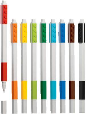 Набор гелевых ручек, 9 шт., LEGO, артикул:5087581 - LEGO Товары для фанатов