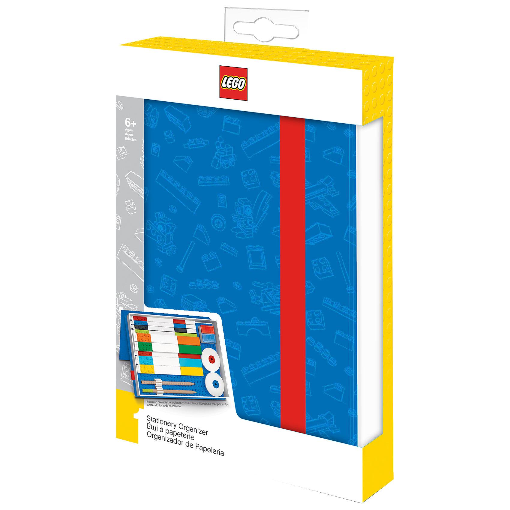 Набор цветных карандашей с 2 насадками в форме кирпичика, 9 шт., LEGOLEGO Товары для фанатов<br>Набор состоит из 9-ти цветных карандашей с твёрдо-мягким грифелем и 2-х насадок (топперов) в форме кирпичика LEGO.<br><br>Ширина мм: 188<br>Глубина мм: 106<br>Высота мм: 32<br>Вес г: 99<br>Возраст от месяцев: 60<br>Возраст до месяцев: 144<br>Пол: Унисекс<br>Возраст: Детский<br>SKU: 5087588