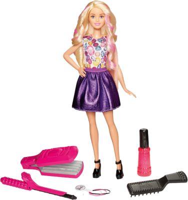 Mattel Игровой набор «Цветные локоны», Barbie