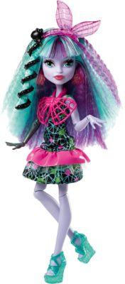 Mattel Монстряшка Твила из серии Под напряжением , Monster High
