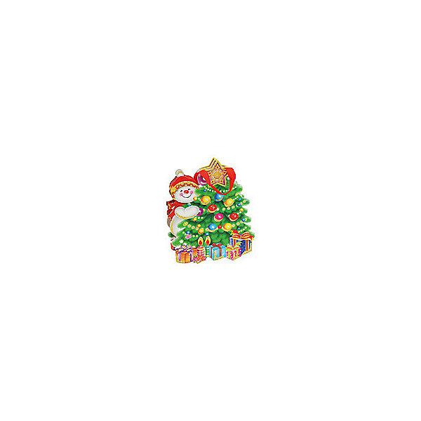 Пакет Снеговик и елкаУпаковка новогоднего подарка<br>Пакет Снеговик и елка, Белоснежка.<br><br>Характеристики:<br><br>• оригинальный дизайн<br>• удобные ручки<br>• прочные материалы<br>• состав: бумага<br>• размер: 25х26х8 см<br>• размер внутреннего пакета: 14,8х17х7,5 см<br><br>Снеговик и елка - восхитительный подарочный пакет, созданный специально для новогодних праздников. Он изготовлен из плотной бумаги и имеет удобные ручки из текстиля. Лицевая сторона пакета имеет необычную форму и украшена ярким рисунком со снеговиком, елкой и, конечно же, подарками!<br><br>Пакет Снеговик и елка вы можете купить в нашем интернет-магазине.<br><br>Ширина мм: 260<br>Глубина мм: 250<br>Высота мм: 80<br>Вес г: 40<br>Возраст от месяцев: 72<br>Возраст до месяцев: 144<br>Пол: Унисекс<br>Возраст: Детский<br>SKU: 5089605