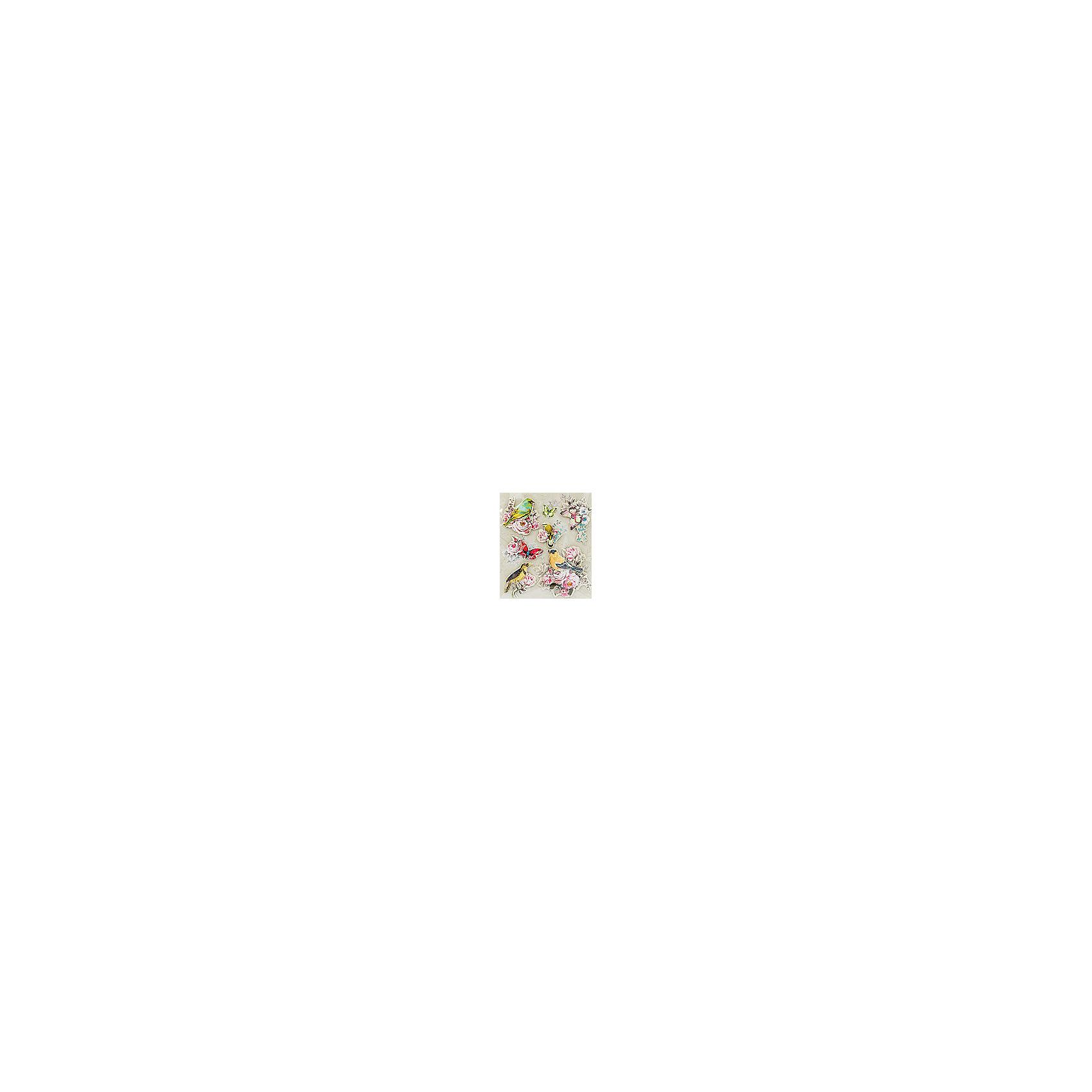 Белоснежка Набор 3D Стикеров Райские птицы белоснежка наборы для скрапбукинга набор бумаги романтика 011 sb