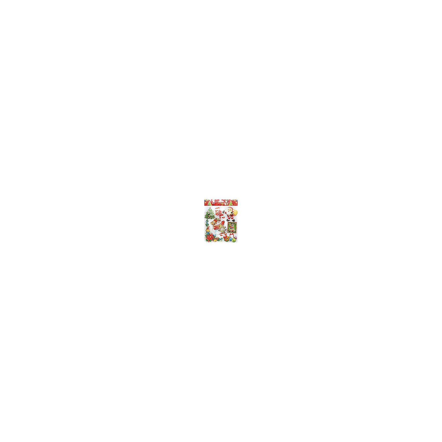 Белоснежка Скрапбукинг-набор стикеров Снеговики снеговики световые feron 32x23x57 см lt102 26966