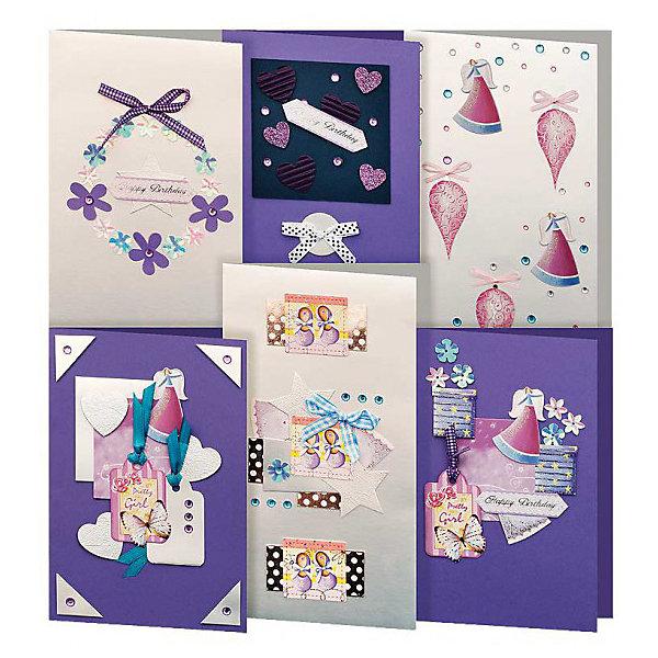 Скрапбукинг-набор для создания 6-ти открыток ПровансБумага<br>Наборы для скрапбукинга<br><br>Ширина мм: 270<br>Глубина мм: 150<br>Высота мм: 60<br>Вес г: 292<br>Возраст от месяцев: 72<br>Возраст до месяцев: 144<br>Пол: Унисекс<br>Возраст: Детский<br>SKU: 5089624