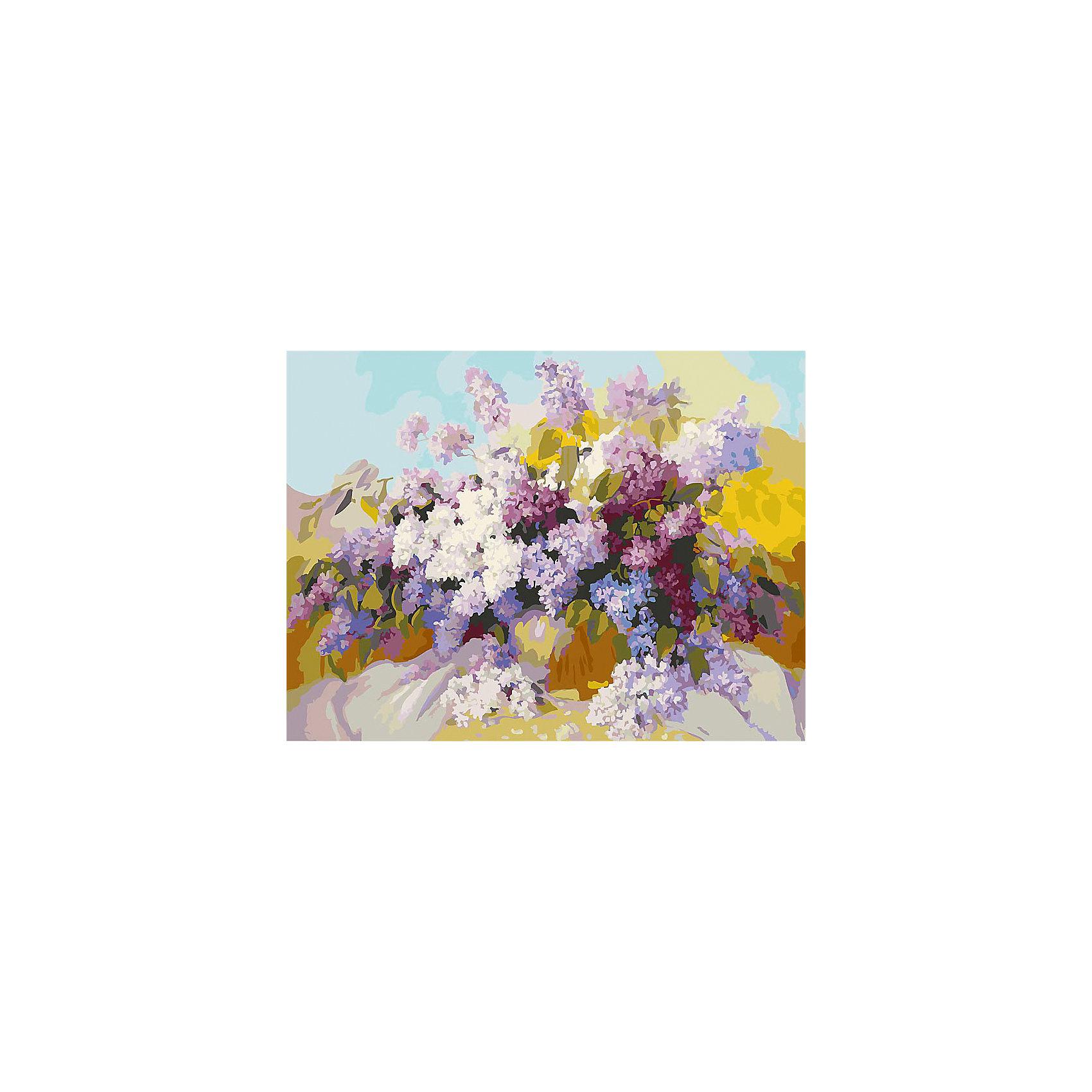 Живопись на холсте Сирень 30*40 смРисование<br>Характеристики товара:<br><br>• цвет: разноцветный<br>• материал: акрил, картон<br>• размер: 30 x 40 см<br>• комплектация: полотно на подрамнике с контурами рисунка, пробный лист с рисунком, набор акриловых красок, три кисти, крепление на стену для картины<br>• для детей от шести лет и взрослых<br>• не требует специальных навыков<br>• страна бренда: Китай<br>• страна изготовитель: Китай<br><br><br>Такой набор станет отличным подарком и для взрослого, и для ребенка! Рисование помогает развить различные навыки и просто приносит удовольствие! Чтобы вселить в ребенка уверенность в своих силах, можно предложить ему этот набор - в нем уже есть сюжет, контуры рисунка и участки с номерами, которые обозначают определенную краску из набора. Все оттенки уже готовы, задача художника - аккуратно, с помощью кисточек из набора, нанести краски на определенный участок полотна.<br>Взрослым также понравится этот процесс, рисовать можно и вместе с малышом! В итоге получается красивая картина, которой можно украсить интерьер. Рисование способствует развитию мелкой моторики, воображения, цветовосприятия, творческих способностей и усидчивости. Набор отлично проработан, сделан из качественных и проверенных материалов, которые безопасны для детей. Краски - акриловые, они быстро сохнут и легко смываются с кожи.<br><br>Живопись на холсте 30*40 см Сирень от торговой марки Белоснежка можно купить в нашем интернет-магазине.<br><br>Ширина мм: 410<br>Глубина мм: 310<br>Высота мм: 25<br>Вес г: 567<br>Возраст от месяцев: 72<br>Возраст до месяцев: 144<br>Пол: Унисекс<br>Возраст: Детский<br>SKU: 5089632