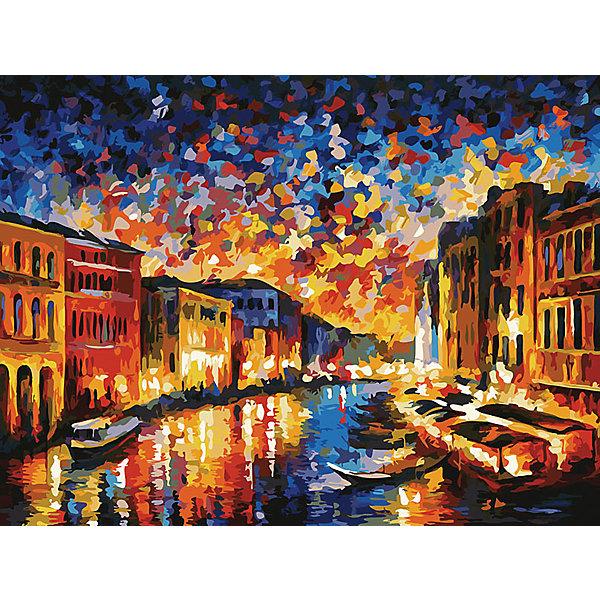 Живопись на холсте Гранд-Канал Венеция 30*40 смРаскраски по номерам<br>Характеристики товара:<br><br>• цвет: разноцветный<br>• материал: акрил, картон<br>• размер: 30 x 40 см<br>• комплектация: полотно на подрамнике с контурами рисунка, пробный лист с рисунком, набор акриловых красок, три кисти, крепление на стену для картины<br>• для детей от шести лет и взрослых<br>• не требует специальных навыков<br>• страна бренда: Китай<br>• страна изготовитель: Китай<br><br>Рисование - это занятие, которое любят многие дети и взрослые. Оно помогает развить важные навыки и просто приносит удовольствие! Чтобы вселить в ребенка уверенность в своих силах, можно предложить ему этот набор - в нем уже есть сюжет, контуры рисунка и участки с номерами, которые обозначают определенную краску из набора. Все оттенки уже готовы, задача художника - аккуратно, с помощью кисточек из набора, нанести краски на определенный участок полотна.<br>Взрослым также понравится этот процесс, рисовать можно и вместе с малышом! В итоге получается красивая картина, которой можно украсить интерьер. Рисование способствует развитию мелкой моторики, воображения, цветовосприятия, творческих способностей и усидчивости. Набор отлично проработан, сделан из качественных и проверенных материалов, которые безопасны для детей. Краски - акриловые, они быстро сохнут и легко смываются с кожи.<br><br>Живопись на холсте 30*40 см Гранд-Канал Венецияот торговой марки Белоснежка можно купить в нашем интернет-магазине.<br>Ширина мм: 410; Глубина мм: 310; Высота мм: 25; Вес г: 567; Возраст от месяцев: 72; Возраст до месяцев: 144; Пол: Унисекс; Возраст: Детский; SKU: 5089639;