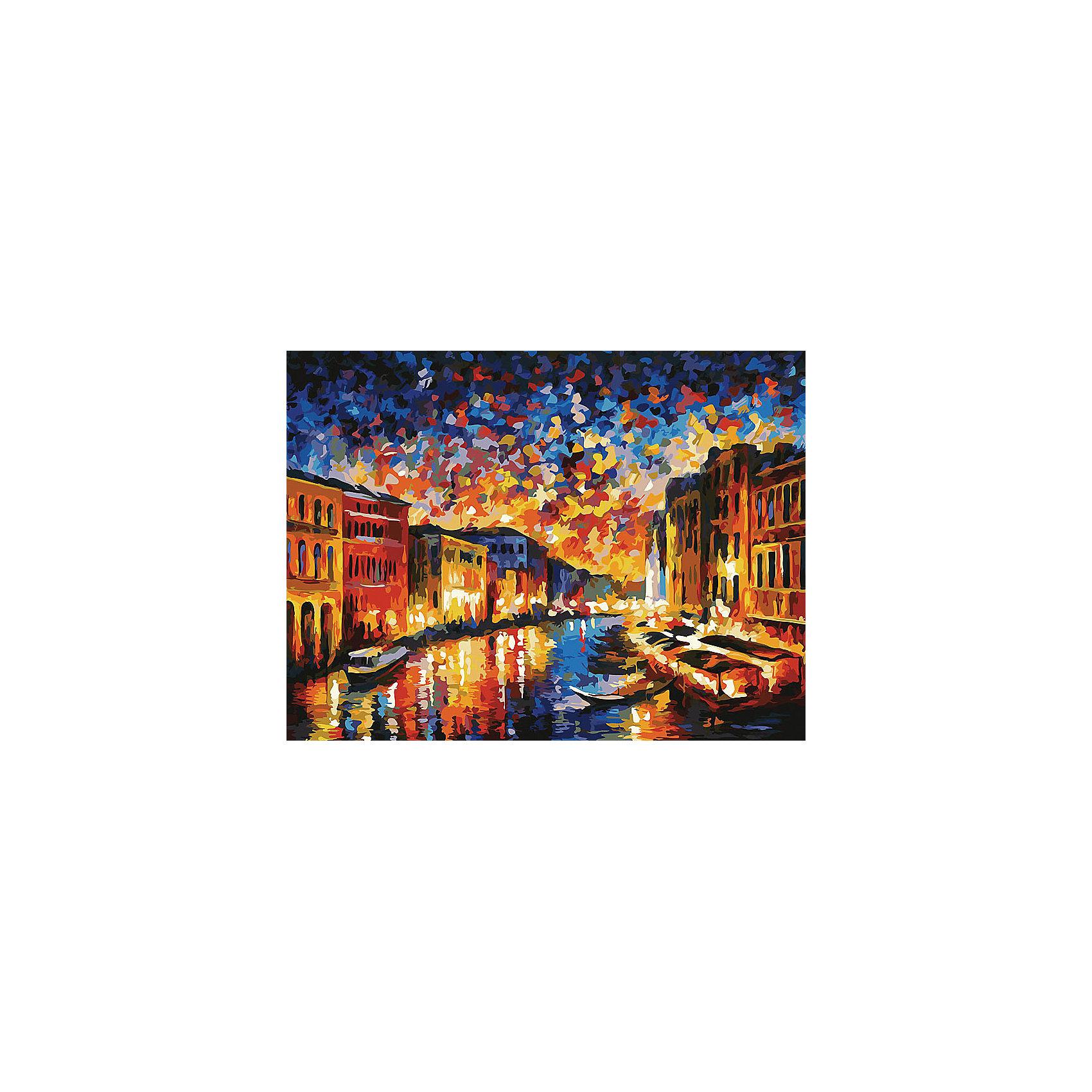 Белоснежка Живопись на холсте Гранд-Канал Венеция 30*40 см живопись на цветном холсте стоянка гондол венеция 40 х 50 см