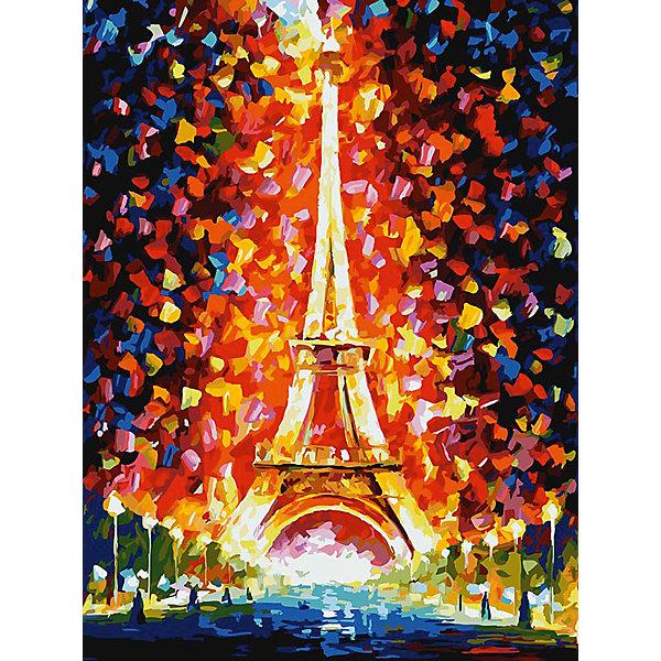 Живопись на холсте Париж - огни Эйфелевой башни 30*40 смРаскраски по номерам<br>Характеристики товара:<br><br>• цвет: разноцветный<br>• материал: акрил, картон<br>• размер: 30 x 40 см<br>• комплектация: полотно на подрамнике с контурами рисунка, пробный лист с рисунком, набор акриловых красок, три кисти, крепление на стену для картины<br>• для детей от шести лет и взрослых<br>• не требует специальных навыков<br>• страна бренда: Китай<br>• страна изготовитель: Китай<br><br>Как с удовольствием и пользой провести время? Порисовать! Это занятие, которое любят многие дети и взрослые. Рисование помогает развить важные навыки и просто приносит удовольствие! Чтобы вселить в ребенка уверенность в своих силах, можно предложить ему этот набор - в нем уже есть сюжет, контуры рисунка и участки с номерами, которые обозначают определенную краску из набора. Все оттенки уже готовы, задача художника - аккуратно, с помощью кисточек из набора, нанести краски на определенный участок полотна.<br>Взрослым также понравится этот процесс, рисовать можно и вместе с малышом! В итоге получается красивая картина, которой можно украсить интерьер. Рисование способствует развитию мелкой моторики, воображения, цветовосприятия, творческих способностей и усидчивости. Набор отлично проработан, сделан из качественных и проверенных материалов, которые безопасны для детей. Краски - акриловые, они быстро сохнут и легко смываются с кожи.<br><br>Живопись на холсте 30*40 см Париж - огни Эйфелевой башни от торговой марки Белоснежка можно купить в нашем интернет-магазине.<br><br>Ширина мм: 410<br>Глубина мм: 310<br>Высота мм: 25<br>Вес г: 567<br>Возраст от месяцев: 72<br>Возраст до месяцев: 144<br>Пол: Унисекс<br>Возраст: Детский<br>SKU: 5089641