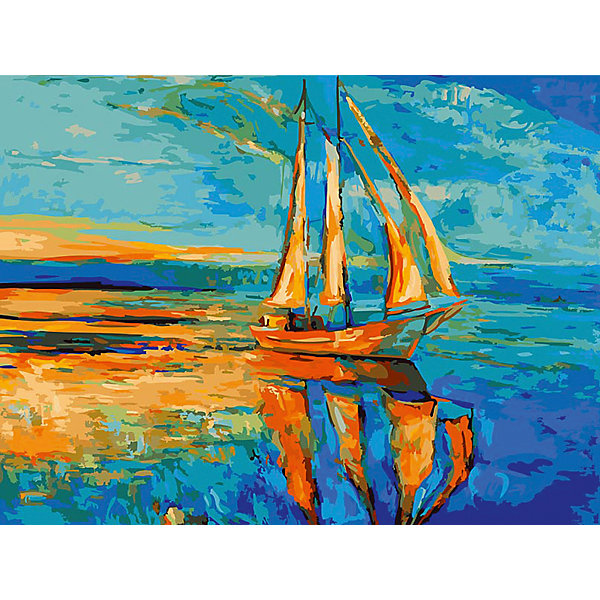Живопись на холсте 30*40 см Под парусамиРаскраски по номерам<br>Характеристики товара:<br><br>• цвет: разноцветный<br>• материал: акрил, картон<br>• размер: 30 x 40 см<br>• комплектация: полотно на подрамнике с контурами рисунка, пробный лист с рисунком, набор акриловых красок, три кисти, крепление на стену для картины<br>• для детей от шести лет и взрослых<br>• не требует специальных навыков<br>• страна бренда: Китай<br>• страна изготовитель: Китай<br><br>Как с удовольствием и пользой провести время? Порисовать! Это занятие, которое любят многие дети и взрослые. Рисование помогает развить важные навыки и просто приносит удовольствие! Чтобы вселить в ребенка уверенность в своих силах, можно предложить ему этот набор - в нем уже есть сюжет, контуры рисунка и участки с номерами, которые обозначают определенную краску из набора. Все оттенки уже готовы, задача художника - аккуратно, с помощью кисточек из набора, нанести краски на определенный участок полотна.<br>Взрослым также понравится этот процесс, рисовать можно и вместе с малышом! В итоге получается красивая картина, которой можно украсить интерьер. Рисование способствует развитию мелкой моторики, воображения, цветовосприятия, творческих способностей и усидчивости. Набор отлично проработан, сделан из качественных и проверенных материалов, которые безопасны для детей. Краски - акриловые, они быстро сохнут и легко смываются с кожи.<br><br>Живопись на холсте 30*40 см Под парусами от торговой марки Белоснежка можно купить в нашем интернет-магазине.<br><br>Ширина мм: 410<br>Глубина мм: 310<br>Высота мм: 25<br>Вес г: 567<br>Возраст от месяцев: 72<br>Возраст до месяцев: 144<br>Пол: Унисекс<br>Возраст: Детский<br>SKU: 5089643