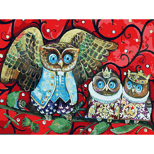 Живопись на холсте 30*40 см Совята на урокеРаскраски по номерам<br>Характеристики товара:<br><br>• цвет: разноцветный<br>• материал: акрил, картон<br>• размер: 30 x 40 см<br>• комплектация: полотно на подрамнике с контурами рисунка, пробный лист с рисунком, набор акриловых красок, три кисти, крепление на стену для картины<br>• для детей от шести лет и взрослых<br>• не требует специальных навыков<br>• страна бренда: Китай<br>• страна изготовитель: Китай<br><br>Как с удовольствием и пользой провести время? Порисовать! Это занятие, которое любят многие дети и взрослые. Рисование помогает развить важные навыки и просто приносит удовольствие! Чтобы вселить в ребенка уверенность в своих силах, можно предложить ему этот набор - в нем уже есть сюжет, контуры рисунка и участки с номерами, которые обозначают определенную краску из набора. Все оттенки уже готовы, задача художника - аккуратно, с помощью кисточек из набора, нанести краски на определенный участок полотна.<br>Взрослым также понравится этот процесс, рисовать можно и вместе с малышом! В итоге получается красивая картина, которой можно украсить интерьер. Рисование способствует развитию мелкой моторики, воображения, цветовосприятия, творческих способностей и усидчивости. Набор отлично проработан, сделан из качественных и проверенных материалов, которые безопасны для детей. Краски - акриловые, они быстро сохнут и легко смываются с кожи.<br><br>Живопись на холсте 30*40 см Совята на уроке от торговой марки Белоснежка можно купить в нашем интернет-магазине.<br><br>Ширина мм: 410<br>Глубина мм: 310<br>Высота мм: 25<br>Вес г: 567<br>Возраст от месяцев: 72<br>Возраст до месяцев: 144<br>Пол: Унисекс<br>Возраст: Детский<br>SKU: 5089657