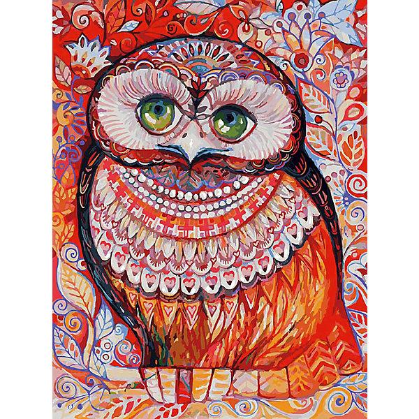 Живопись на холсте Медовая сова 30*40 смРаскраски по номерам<br>Характеристики товара:<br><br>• цвет: разноцветный<br>• материал: акрил, картон<br>• размер: 30 x 40 см<br>• комплектация: полотно на подрамнике с контурами рисунка, пробный лист с рисунком, набор акриловых красок, три кисти, крепление на стену для картины<br>• для детей от шести лет и взрослых<br>• не требует специальных навыков<br>• страна бренда: Китай<br>• страна изготовитель: Китай<br><br>Рисование - это занятие, которое любят многие дети и взрослые. Оно помогает развить важные навыки и просто приносит удовольствие! Чтобы вселить в ребенка уверенность в своих силах, можно предложить ему этот набор - в нем уже есть сюжет, контуры рисунка и участки с номерами, которые обозначают определенную краску из набора. Все оттенки уже готовы, задача художника - аккуратно, с помощью кисточек из набора, нанести краски на определенный участок полотна.<br>Взрослым также понравится этот процесс, рисовать можно и вместе с малышом! В итоге получается красивая картина, которой можно украсить интерьер. Рисование способствует развитию мелкой моторики, воображения, цветовосприятия, творческих способностей и усидчивости. Набор отлично проработан, сделан из качественных и проверенных материалов, которые безопасны для детей. Краски - акриловые, они быстро сохнут и легко смываются с кожи.<br><br>Живопись на холсте 30*40 см Медовая сова от торговой марки Белоснежка можно купить в нашем интернет-магазине.<br><br>Ширина мм: 410<br>Глубина мм: 310<br>Высота мм: 25<br>Вес г: 567<br>Возраст от месяцев: 72<br>Возраст до месяцев: 144<br>Пол: Унисекс<br>Возраст: Детский<br>SKU: 5089659