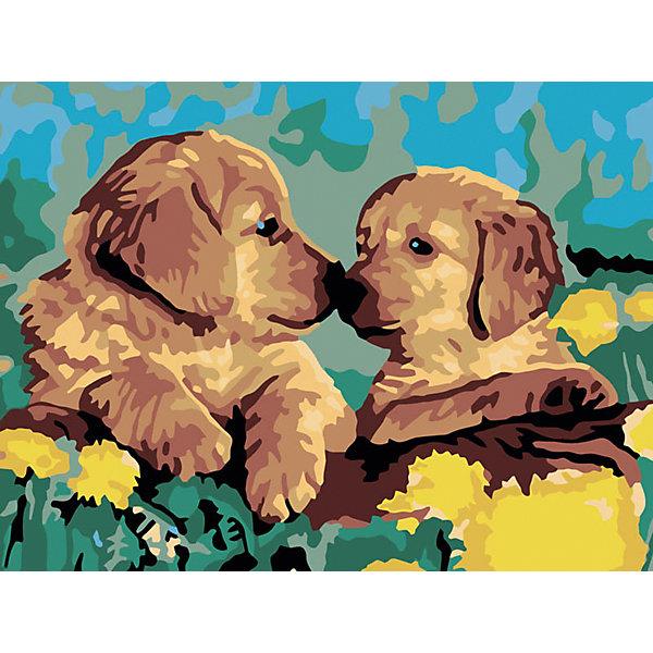 Живопись на холсте 30*40 см ЗнакомствоРаскраски по номерам<br>Характеристики:<br><br>• Предназначение: для занятий художественным творчеством<br>• Тематика: животные<br>• Пол: универсальный<br>• Материал: дерево, бумага, краски<br>• Цвет: зеленый, коричневый, желтый, голубой и др.<br>• Комплектация: холст на подрамнике, набор акриловых красок, 2 кисти, пробный лист с нанесенным рисунком, крепление для готовой картины, инструкция<br>• Размеры (Ш*Д): 30*40 см<br>• Вес: 480 г <br>• Упаковка: картонная коробка<br><br>Живопись на холсте 30*40 см Знакомство – это набор от торговой марки Белоснежка, специализирующейся на товарах для творчества и рукоделия. Комплект для живописи состоит из черно-белого холста на подрамнике из дерева, набора необходимых акриловых красок, двух кистей разного размера и пробного листа. На холст и пробный лист нанесен рисунок с указанием номера соответствующей цвету краски. Акриловые краски хорошо ложатся на холст, не растекаются и не смешиваются, что делает их идеальными для начинающих художников. Все материалы, используемые в наборе, экологичные и натуральные. Готовые наборы научат вашего ребенка сочетать цвета и оттенки, действовать по заданному образцу, будут способствовать развитию внимательности, усидчивости и зрительному восприятию. <br>Занятия художественным творчеством являются не только средством творческого и эстетического развития, но также воспитания и коррекции эмоциональных комплексов у детей. <br><br>С наборами живописи на холсте от Белоснежки можно создать свою галерею картин или подготовить подарок родным и близким к празднованию торжества.<br><br>Живопись на холсте 30*40 см Знакомство можно купить в нашем интернет-магазине.<br><br>Ширина мм: 410<br>Глубина мм: 310<br>Высота мм: 25<br>Вес г: 567<br>Возраст от месяцев: 72<br>Возраст до месяцев: 144<br>Пол: Унисекс<br>Возраст: Детский<br>SKU: 5089675