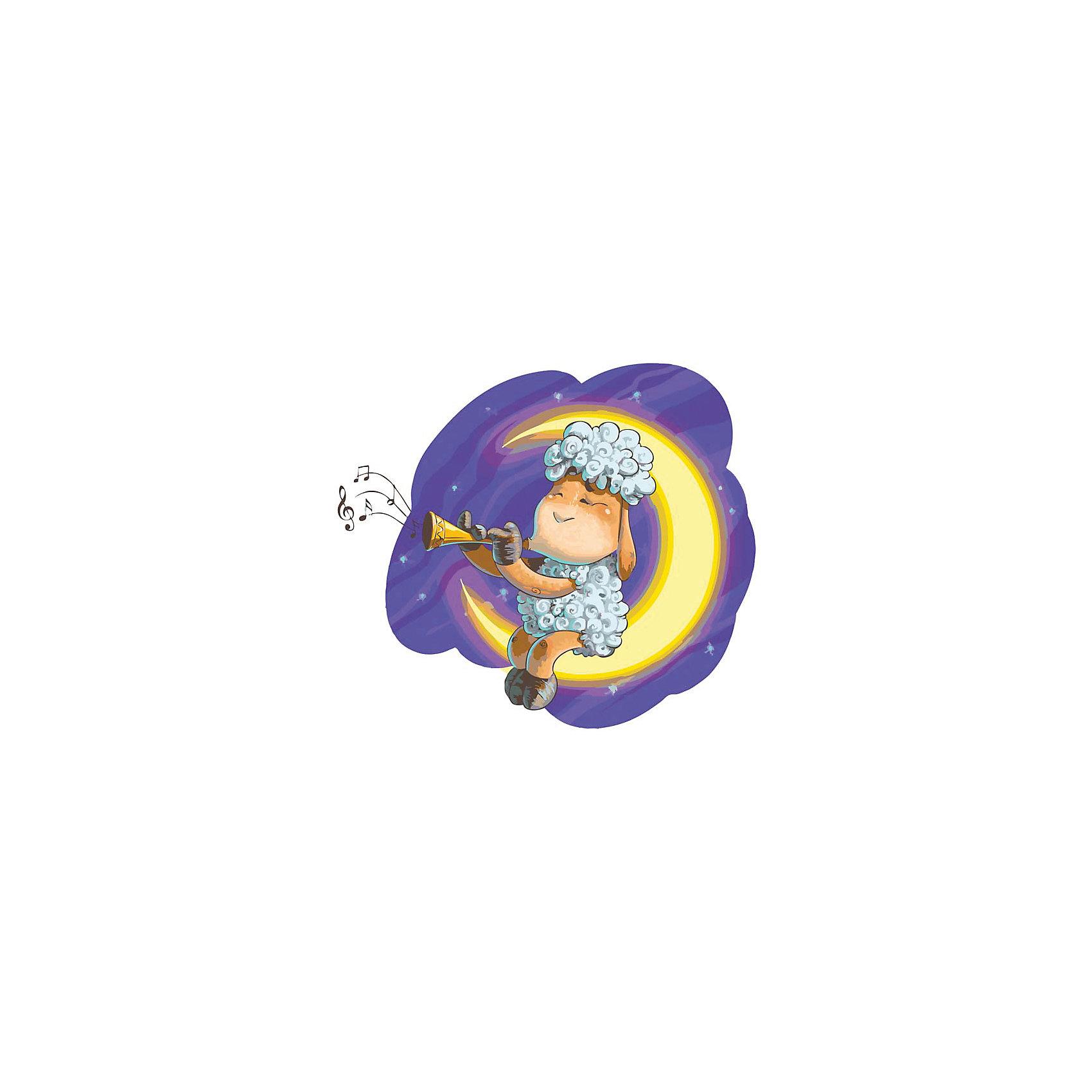 Живопись на холсте 30*40 см Овечка на ЛунеРисование<br>Характеристики:<br><br>• Предназначение: для занятий художественным творчеством<br>• Тематика: животные<br>• Пол: универсальный<br>• Материал: дерево, бумага, краски<br>• Цвет: серый, белый, фиолетовый, сиреневый, желтый и др.<br>• Комплектация: холст на подрамнике, набор акриловых красок, 3 кисти, пробный лист с нанесенным рисунком, крепление для готовой картины, инструкция<br>• Размеры (Ш*Д): 30*40 см<br>• Вес: 480 г <br>• Упаковка: картонная коробка<br><br>Живопись на холсте 30*40 см Овечка на Луне – это набор от торговой марки Белоснежка, специализирующейся на товарах для творчества и рукоделия. Комплект для живописи состоит из черно-белого холста на подрамнике из дерева, набора необходимых акриловых красок, трех кистей разного размера и пробного листа. На холст и пробный лист нанесен рисунок с указанием номера соответствующей цвету краски. Акриловые краски хорошо ложатся на холст, не растекаются и не смешиваются, что делает их идеальными для начинающих художников. Все материалы, используемые в наборе, экологичные и натуральные. Готовые наборы научат вашего ребенка сочетать цвета и оттенки, действовать по заданному образцу, будут способствовать развитию внимательности, усидчивости и зрительному восприятию. <br>Занятия художественным творчеством являются не только средством творческого и эстетического развития, но также воспитания и коррекции эмоциональных комплексов у детей. <br><br>С наборами живописи на холсте от Белоснежки можно создать свою галерею картин или подготовить подарок родным и близким к празднованию торжества.<br><br>Живопись на холсте 30*40 см Овечка на Луне можно купить в нашем интернет-магазине.<br><br>Ширина мм: 410<br>Глубина мм: 310<br>Высота мм: 25<br>Вес г: 567<br>Возраст от месяцев: 72<br>Возраст до месяцев: 144<br>Пол: Унисекс<br>Возраст: Детский<br>SKU: 5089696