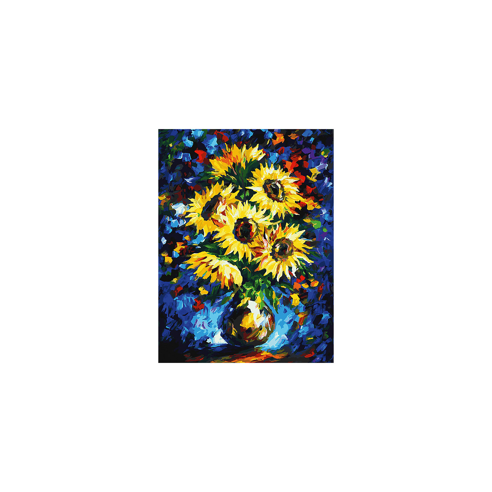 Живопись на холсте 30*40 см Ночные подсолнухиХарактеристики товара:<br><br>• цвет: разноцветный<br>• материал: акрил, картон<br>• размер: 30 x 40 см<br>• комплектация: полотно на подрамнике с контурами рисунка, пробный лист с рисунком, набор акриловых красок, три кисти, крепление на стену для картины<br>• для детей от шести лет и взрослых<br>• не требует специальных навыков<br>• страна бренда: Китай<br>• страна изготовитель: Китай<br><br>Как с удовольствием и пользой провести время? Порисовать! Это занятие, которое любят многие дети и взрослые. Рисование помогает развить важные навыки и просто приносит удовольствие! Чтобы вселить в ребенка уверенность в своих силах, можно предложить ему этот набор - в нем уже есть сюжет, контуры рисунка и участки с номерами, которые обозначают определенную краску из набора. Все оттенки уже готовы, задача художника - аккуратно, с помощью кисточек из набора, нанести краски на определенный участок полотна.<br>Взрослым также понравится этот процесс, рисовать можно и вместе с малышом! В итоге получается красивая картина, которой можно украсить интерьер. Рисование способствует развитию мелкой моторики, воображения, цветовосприятия, творческих способностей и усидчивости. Набор отлично проработан, сделан из качественных и проверенных материалов, которые безопасны для детей. Краски - акриловые, они быстро сохнут и легко смываются с кожи.<br><br>Живопись на холсте 30*40 см Ночные подсолнухи от торговой марки Белоснежка можно купить в нашем интернет-магазине.<br><br>Ширина мм: 410<br>Глубина мм: 310<br>Высота мм: 25<br>Вес г: 567<br>Возраст от месяцев: 72<br>Возраст до месяцев: 144<br>Пол: Унисекс<br>Возраст: Детский<br>SKU: 5089710