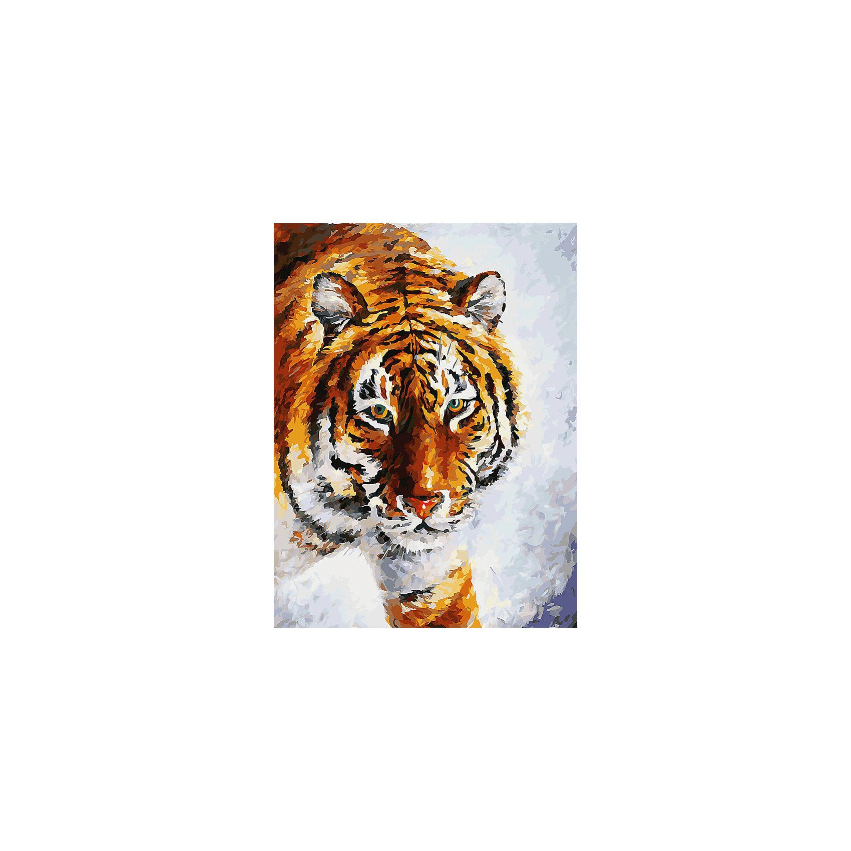 Живопись на холсте 30*40 см Тигр на снегуРисование<br>Характеристики товара:<br><br>• цвет: разноцветный<br>• материал: акрил, картон<br>• размер: 30 x 40 см<br>• комплектация: полотно на подрамнике с контурами рисунка, пробный лист с рисунком, набор акриловых красок, три кисти, крепление на стену для картины<br>• для детей от шести лет и взрослых<br>• не требует специальных навыков<br>• страна бренда: Китай<br>• страна изготовитель: Китай<br><br>Рисование - это занятие, которое любят многие дети и взрослые. Оно помогает развить важные навыки и просто приносит удовольствие! Чтобы вселить в ребенка уверенность в своих силах, можно предложить ему этот набор - в нем уже есть сюжет, контуры рисунка и участки с номерами, которые обозначают определенную краску из набора. Все оттенки уже готовы, задача художника - аккуратно, с помощью кисточек из набора, нанести краски на определенный участок полотна.<br>Взрослым также понравится этот процесс, рисовать можно и вместе с малышом! В итоге получается красивая картина, которой можно украсить интерьер. Рисование способствует развитию мелкой моторики, воображения, цветовосприятия, творческих способностей и усидчивости. Набор отлично проработан, сделан из качественных и проверенных материалов, которые безопасны для детей. Краски - акриловые, они быстро сохнут и легко смываются с кожи.<br><br>Живопись на холсте 30*40 см Тигр на снегу от торговой марки Белоснежка можно купить в нашем интернет-магазине.<br><br>Ширина мм: 410<br>Глубина мм: 310<br>Высота мм: 25<br>Вес г: 567<br>Возраст от месяцев: 72<br>Возраст до месяцев: 144<br>Пол: Унисекс<br>Возраст: Детский<br>SKU: 5089711