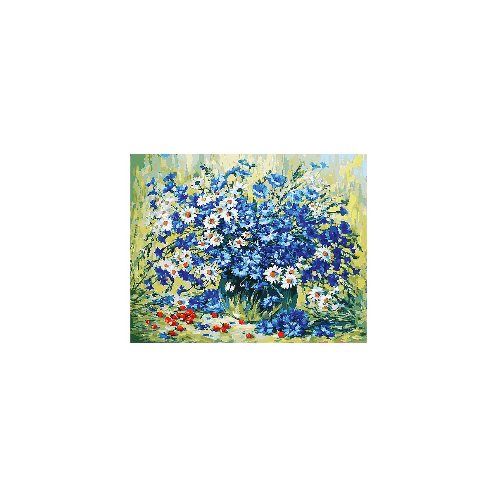 Живопись на холсте 40*50 см Летний натюрмортРаскраски по номерам<br>Характеристики товара:<br><br>• цвет: разноцветный<br>• материал: акрил, картон<br>• размер: 50 x 40 см<br>• комплектация: полотно на подрамнике с контурами рисунка, пробный лист с рисунком, набор акриловых красок, три кисти, крепление на стену для картины<br>• для детей от шести лет и взрослых<br>• не требует специальных навыков<br>• страна бренда: Китай<br>• страна изготовитель: Китай<br><br>Думаете, какой подарок выбрать к празднику? Рисование - это занятие, которое любят многие дети и взрослые. Оно помогает развить различные навыки и просто приносит удовольствие! Чтобы вселить в ребенка уверенность в своих силах, можно предложить ему этот набор - в нем уже есть сюжет, контуры рисунка и участки с номерами, которые обозначают определенную краску из набора. Все оттенки уже готовы, задача художника - аккуратно, с помощью кисточек из набора, нанести краски на определенный участок полотна.<br>Взрослым также понравится этот процесс, рисовать можно и вместе с малышом! В итоге получается красивая картина, которой можно украсить интерьер. Рисование способствует развитию мелкой моторики, воображения, цветовосприятия, творческих способностей и усидчивости. Набор отлично проработан, сделан из качественных и проверенных материалов, которые безопасны для детей. Краски - акриловые, они быстро сохнут и легко смываются с кожи.<br><br>Живопись на холсте 40*50 см Летний натюрморт от торговой марки Белоснежка можно купить в нашем интернет-магазине.<br><br>Ширина мм: 510<br>Глубина мм: 410<br>Высота мм: 25<br>Вес г: 850<br>Возраст от месяцев: 72<br>Возраст до месяцев: 144<br>Пол: Унисекс<br>Возраст: Детский<br>SKU: 5089717