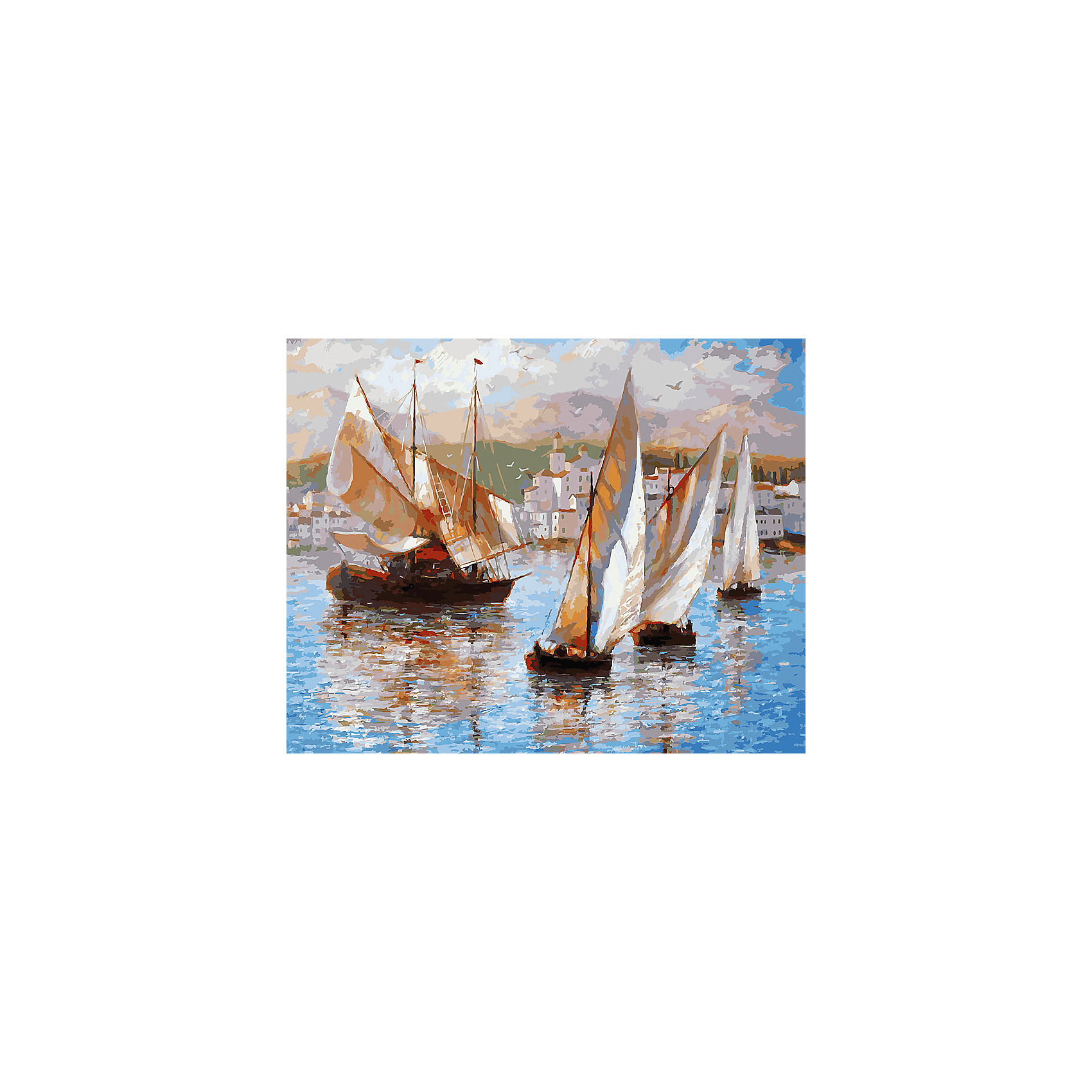 Живопись на холсте 40*50 см Морская прогулка по ИталииРисование<br>Характеристики товара:<br><br>• цвет: разноцветный<br>• материал: акрил, картон<br>• размер: 50 x 40 см<br>• комплектация: полотно на подрамнике с контурами рисунка, пробный лист с рисунком, набор акриловых красок, три кисти, крепление на стену для картины<br>• для детей от шести лет и взрослых<br>• не требует специальных навыков<br>• страна бренда: Китай<br>• страна изготовитель: Китай<br><br>Такой набор станет отличным подарком и для взрослого, и для ребенка! Рисование помогает развить различные навыки и просто приносит удовольствие! Чтобы вселить в ребенка уверенность в своих силах, можно предложить ему этот набор - в нем уже есть сюжет, контуры рисунка и участки с номерами, которые обозначают определенную краску из набора. Все оттенки уже готовы, задача художника - аккуратно, с помощью кисточек из набора, нанести краски на определенный участок полотна.<br>Взрослым также понравится этот процесс, рисовать можно и вместе с малышом! В итоге получается красивая картина, которой можно украсить интерьер. Рисование способствует развитию мелкой моторики, воображения, цветовосприятия, творческих способностей и усидчивости. Набор отлично проработан, сделан из качественных и проверенных материалов, которые безопасны для детей. Краски - акриловые, они быстро сохнут и легко смываются с кожи.<br><br>Живопись на холсте 40*50 см Морская прогулка по Италии от торговой марки Белоснежка можно купить в нашем интернет-магазине.<br><br>Ширина мм: 510<br>Глубина мм: 410<br>Высота мм: 25<br>Вес г: 850<br>Возраст от месяцев: 72<br>Возраст до месяцев: 144<br>Пол: Унисекс<br>Возраст: Детский<br>SKU: 5089719