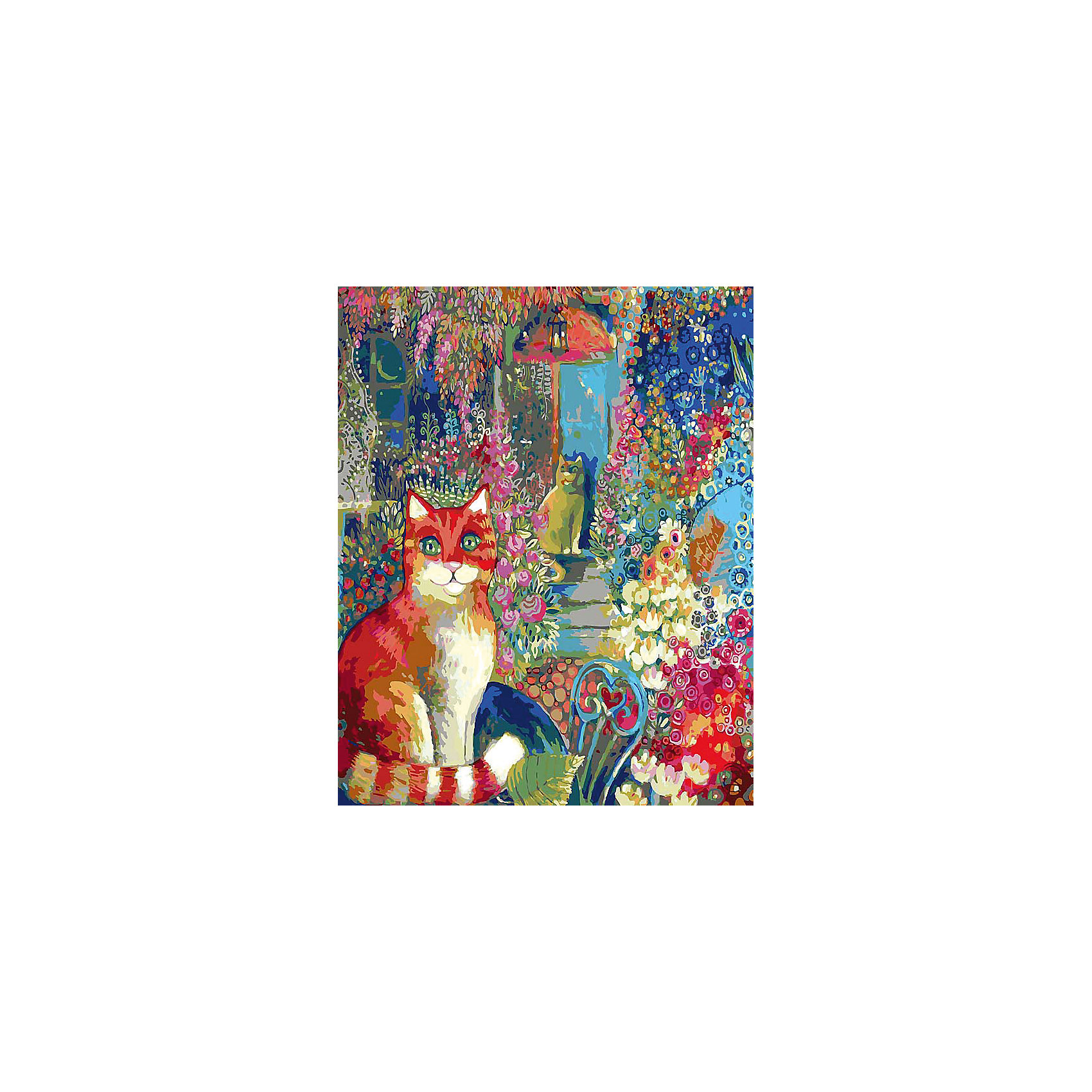 Белоснежка Живопись на холсте В городском саду 40*50 см