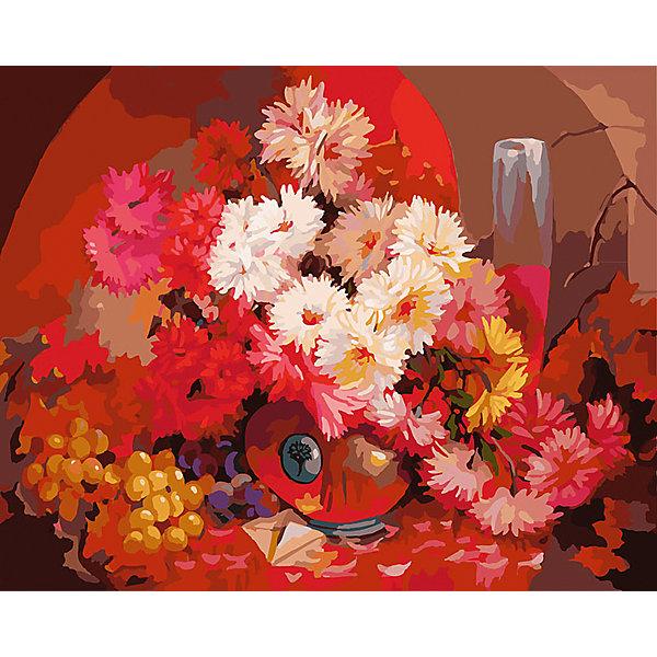 Живопись на холсте 40*50 см Бархатный букетРаскраски по номерам<br>Характеристики товара:<br><br>• цвет: разноцветный<br>• материал: акрил, картон<br>• размер: 50 x 40 см<br>• комплектация: полотно на подрамнике с контурами рисунка, пробный лист с рисунком, набор акриловых красок, три кисти, крепление на стену для картины<br>• для детей от шести лет и взрослых<br>• не требует специальных навыков<br>• страна бренда: Китай<br>• страна изготовитель: Китай<br><br>Такой набор станет отличным подарком и для взрослого, и для ребенка! Рисование помогает развить различные навыки и просто приносит удовольствие! Чтобы вселить в ребенка уверенность в своих силах, можно предложить ему этот набор - в нем уже есть сюжет, контуры рисунка и участки с номерами, которые обозначают определенную краску из набора. Все оттенки уже готовы, задача художника - аккуратно, с помощью кисточек из набора, нанести краски на определенный участок полотна.<br>Взрослым также понравится этот процесс, рисовать можно и вместе с малышом! В итоге получается красивая картина, которой можно украсить интерьер. Рисование способствует развитию мелкой моторики, воображения, цветовосприятия, творческих способностей и усидчивости. Набор отлично проработан, сделан из качественных и проверенных материалов, которые безопасны для детей. Краски - акриловые, они быстро сохнут и легко смываются с кожи.<br><br>Живопись на холсте 40*50 см Бархатный букет от торговой марки Белоснежка можно купить в нашем интернет-магазине.<br>Ширина мм: 510; Глубина мм: 410; Высота мм: 25; Вес г: 850; Возраст от месяцев: 72; Возраст до месяцев: 144; Пол: Унисекс; Возраст: Детский; SKU: 5089725;