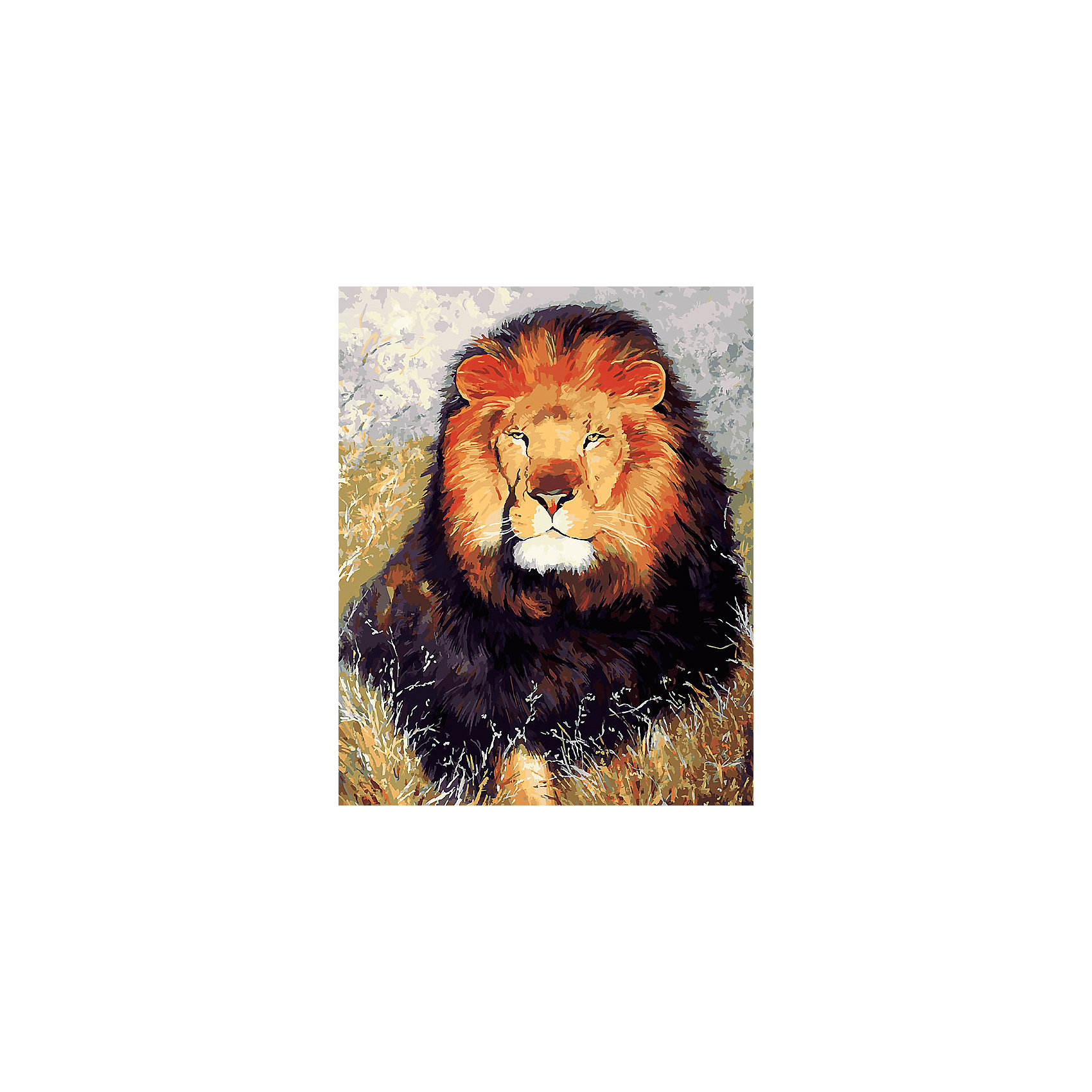 Живопись на холсте 40*50 см Царь зверейРисование<br>Характеристики товара:<br><br>• цвет: разноцветный<br>• материал: акрил, картон<br>• размер: 50 x 40 см<br>• комплектация: полотно на подрамнике с контурами рисунка, пробный лист с рисунком, набор акриловых красок, три кисти, крепление на стену для картины<br>• для детей от шести лет и взрослых<br>• не требует специальных навыков<br>• страна бренда: Китай<br>• страна изготовитель: Китай<br><br>Такой набор станет отличным подарком и для взрослого, и для ребенка! Рисование помогает развить различные навыки и просто приносит удовольствие! Чтобы вселить в ребенка уверенность в своих силах, можно предложить ему этот набор - в нем уже есть сюжет, контуры рисунка и участки с номерами, которые обозначают определенную краску из набора. Все оттенки уже готовы, задача художника - аккуратно, с помощью кисточек из набора, нанести краски на определенный участок полотна.<br>Взрослым также понравится этот процесс, рисовать можно и вместе с малышом! В итоге получается красивая картина, которой можно украсить интерьер. Рисование способствует развитию мелкой моторики, воображения, цветовосприятия, творческих способностей и усидчивости. Набор отлично проработан, сделан из качественных и проверенных материалов, которые безопасны для детей. Краски - акриловые, они быстро сохнут и легко смываются с кожи.<br><br>Живопись на холсте 40*50 см Царь зверей от торговой марки Белоснежка можно купить в нашем интернет-магазине.<br><br>Ширина мм: 510<br>Глубина мм: 410<br>Высота мм: 25<br>Вес г: 850<br>Возраст от месяцев: 72<br>Возраст до месяцев: 144<br>Пол: Унисекс<br>Возраст: Детский<br>SKU: 5089730