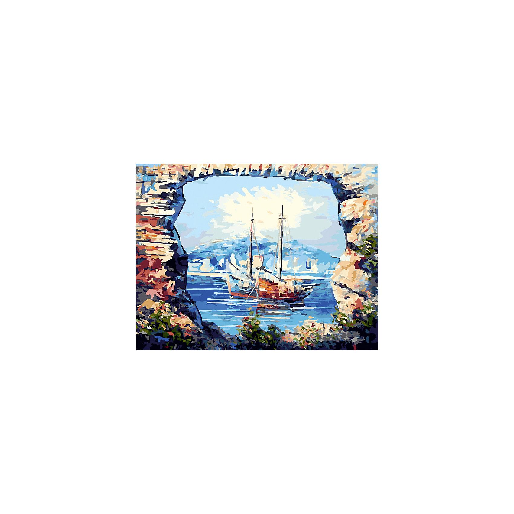 Живопись на холсте 40*50 см В тихой бухтеХарактеристики товара:<br><br>• цвет: разноцветный<br>• материал: акрил, картон<br>• размер: 50 x 40 см<br>• комплектация: полотно на подрамнике с контурами рисунка, пробный лист с рисунком, набор акриловых красок, три кисти, крепление на стену для картины<br>• для детей от шести лет и взрослых<br>• не требует специальных навыков<br>• страна бренда: Китай<br>• страна изготовитель: Китай<br><br>Такой набор станет отличным подарком и для взрослого, и для ребенка! Рисование помогает развить различные навыки и просто приносит удовольствие! Чтобы вселить в ребенка уверенность в своих силах, можно предложить ему этот набор - в нем уже есть сюжет, контуры рисунка и участки с номерами, которые обозначают определенную краску из набора. Все оттенки уже готовы, задача художника - аккуратно, с помощью кисточек из набора, нанести краски на определенный участок полотна.<br>Взрослым также понравится этот процесс, рисовать можно и вместе с малышом! В итоге получается красивая картина, которой можно украсить интерьер. Рисование способствует развитию мелкой моторики, воображения, цветовосприятия, творческих способностей и усидчивости. Набор отлично проработан, сделан из качественных и проверенных материалов, которые безопасны для детей. Краски - акриловые, они быстро сохнут и легко смываются с кожи.<br><br>Живопись на холсте 40*50 см В тихой бухте от торговой марки Белоснежка можно купить в нашем интернет-магазине.<br><br>Ширина мм: 510<br>Глубина мм: 410<br>Высота мм: 25<br>Вес г: 850<br>Возраст от месяцев: 72<br>Возраст до месяцев: 144<br>Пол: Унисекс<br>Возраст: Детский<br>SKU: 5089733