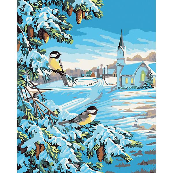 Живопись на холсте 40*50 см Снежная зимаРаскраски по номерам<br>Характеристики товара:<br><br>• цвет: разноцветный<br>• материал: акрил, картон<br>• размер: 50 x 40 см<br>• комплектация: полотно на подрамнике с контурами рисунка, пробный лист с рисунком, набор акриловых красок, три кисти, крепление на стену для картины<br>• для детей от шести лет и взрослых<br>• не требует специальных навыков<br>• страна бренда: Китай<br>• страна изготовитель: Китай<br><br>Думаете, какой подарок выбрать к празднику? Рисование - это занятие, которое любят многие дети и взрослые. Оно помогает развить различные навыки и просто приносит удовольствие! Чтобы вселить в ребенка уверенность в своих силах, можно предложить ему этот набор - в нем уже есть сюжет, контуры рисунка и участки с номерами, которые обозначают определенную краску из набора. Все оттенки уже готовы, задача художника - аккуратно, с помощью кисточек из набора, нанести краски на определенный участок полотна.<br>Взрослым также понравится этот процесс, рисовать можно и вместе с малышом! В итоге получается красивая картина, которой можно украсить интерьер. Рисование способствует развитию мелкой моторики, воображения, цветовосприятия, творческих способностей и усидчивости. Набор отлично проработан, сделан из качественных и проверенных материалов, которые безопасны для детей. Краски - акриловые, они быстро сохнут и легко смываются с кожи.<br><br>Живопись на холсте 40*50 см Снежная зима от торговой марки Белоснежка можно купить в нашем интернет-магазине.<br><br>Ширина мм: 510<br>Глубина мм: 410<br>Высота мм: 25<br>Вес г: 850<br>Возраст от месяцев: 72<br>Возраст до месяцев: 144<br>Пол: Унисекс<br>Возраст: Детский<br>SKU: 5089740