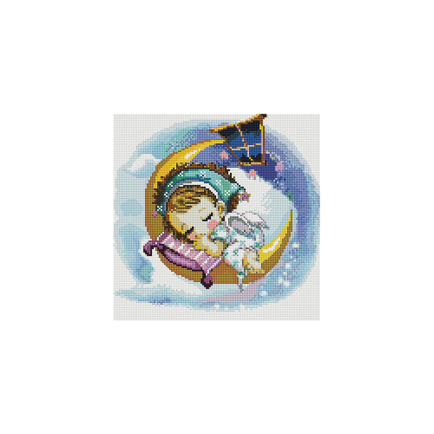 Мозаика на подрамнике Нежный сонМозаика<br>Характеристики:<br><br>• Предназначение: для творческих занятий<br>• Тематика: ангелочки<br>• Пол: для девочек<br>• Материал: дерево, бумага, пластик<br>• Цвет: желтый, белый, синий, голубой, розовый и др.<br>• Количество цветов: 38<br>• Комплектация: холст на подрамнике, стразы, пинцет, карандаш для камней, клей, лоток для камней инструкция<br>• Размеры готовой работы (Ш*Д): 30*30 см<br>• Тип выкладки камней: сплошное заполнение рисунка<br>• Стразы квадратные формы ограненные<br>• Вес: 760 г <br>• Упаковка: картонная коробка<br><br>Мозаика на подрамнике Нежный сон – это набор от торговой марки Белоснежка, специализирующейся на товарах для творчества и рукоделия. Комплект для мозаики состоит из холста на деревянном подрамнике, набора необходимых камней и приспособлений для их выкладки. На холст нанесен рисунок с указанием цвета камней. С помощью пинцета выкладывается картина способом сплошного заполнения, что создает реалистичность изображения. Все материалы, используемые в наборе, экологичные и натуральные. Готовые наборы научат вашего ребенка сочетать цвета и оттенки, действовать по заданному образцу, будут способствовать развитию внимательности, усидчивости и зрительному восприятию. <br>Занятия художественным творчеством являются не только средством творческого и эстетического развития, но также воспитания и коррекции эмоциональных комплексов у детей и подростков. <br><br>С наборами от Белоснежки можно создать как отдельную картину, так и использовать поделку в качестве оригинального и яркого аксессуара для оформления интерьера или других более крупных предметов и поделок.<br><br>Мозаику на подрамнике Нежный сон можно купить в нашем интернет-магазине.<br><br>Ширина мм: 310<br>Глубина мм: 310<br>Высота мм: 25<br>Вес г: 767<br>Возраст от месяцев: 144<br>Возраст до месяцев: 192<br>Пол: Женский<br>Возраст: Детский<br>SKU: 5089767