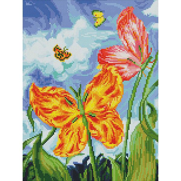 Мозаика на подрамнике БабочкиМозаика детская<br>Характеристики:<br><br>• Предназначение: для творческих занятий<br>• Тематика: насекомые, цветы<br>• Пол: для девочек<br>• Материал: дерево, бумага, пластик<br>• Цвет: голубой, белый, сиреневый, желтый, оранжевый, красный, зеленый и др.<br>• Количество цветов: 41<br>• Комплектация: холст на подрамнике, стразы, пинцет, карандаш для камней, клей, лоток для камней инструкция<br>• Размеры готовой работы (Ш*Д): 30*40 см<br>• Тип выкладки камней: сплошное заполнение рисунка<br>• Стразы круглой формы ограненные<br>• Вес: 980 г <br>• Упаковка: картонная коробка<br><br>Мозаика на подрамнике Бабочки – это набор от торговой марки Белоснежка, специализирующейся на товарах для творчества и рукоделия. Комплект для мозаики состоит из холста на деревянном подрамнике, набора необходимых камней и приспособлений для их выкладки. На холст нанесен рисунок с указанием цвета камней. С помощью пинцета выкладывается картина способом сплошного заполнения, что создает реалистичность изображения. Все материалы, используемые в наборе, экологичные и натуральные. Готовые наборы научат вашего ребенка сочетать цвета и оттенки, действовать по заданному образцу, будут способствовать развитию внимательности, усидчивости и зрительному восприятию. <br>Занятия художественным творчеством являются не только средством творческого и эстетического развития, но также воспитания и коррекции эмоциональных комплексов у детей и подростков. <br><br>С наборами от Белоснежки можно создать как отдельную картину, так и использовать поделку в качестве оригинального и яркого аксессуара для оформления интерьера или других более крупных предметов и поделок.<br><br>Мозаику на подрамнике Бабочки можно купить в нашем интернет-магазине.<br><br>Ширина мм: 310<br>Глубина мм: 410<br>Высота мм: 25<br>Вес г: 700<br>Возраст от месяцев: 144<br>Возраст до месяцев: 192<br>Пол: Женский<br>Возраст: Детский<br>SKU: 5089769