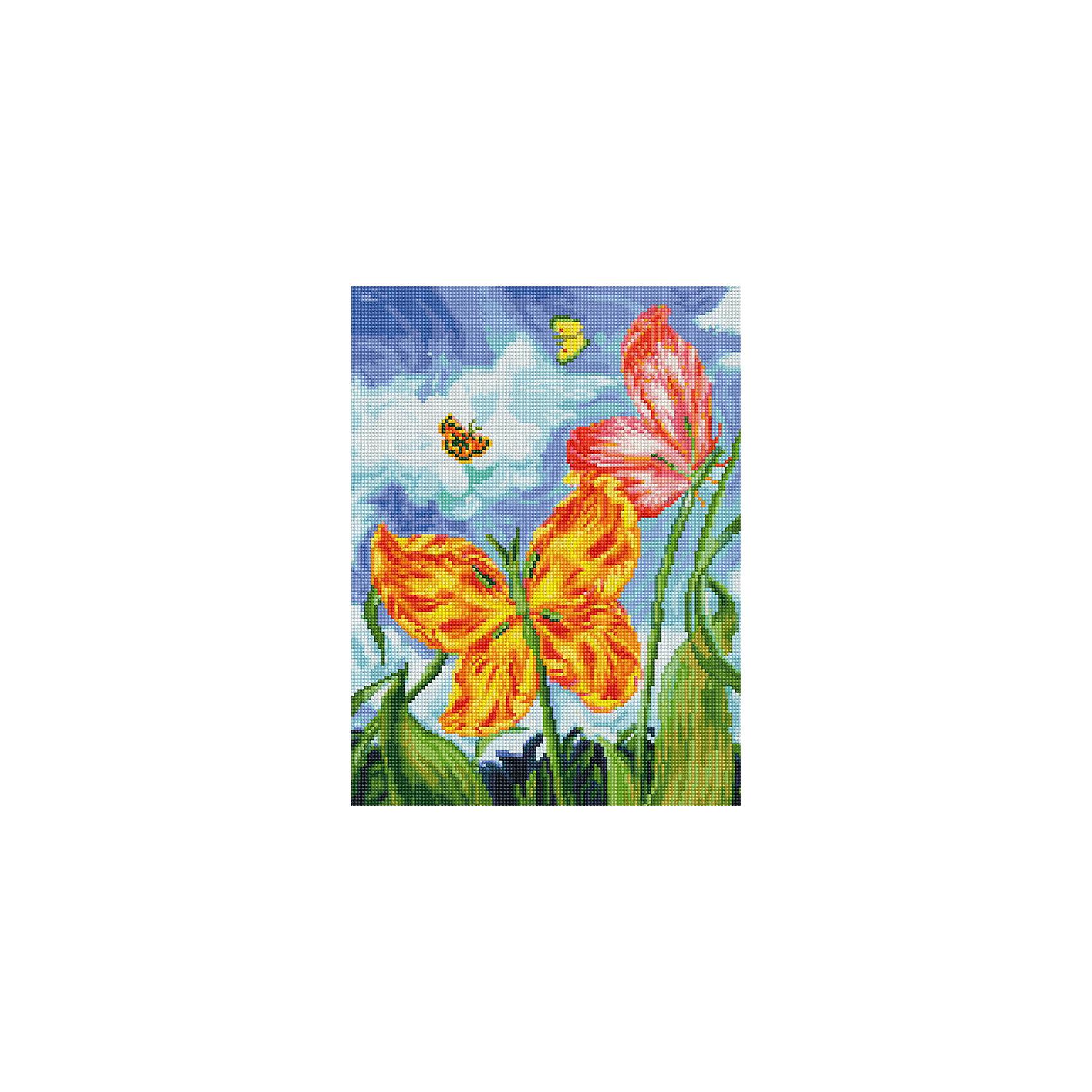 Мозаика на подрамнике БабочкиМозаика детская<br>Характеристики:<br><br>• Предназначение: для творческих занятий<br>• Тематика: насекомые, цветы<br>• Пол: для девочек<br>• Материал: дерево, бумага, пластик<br>• Цвет: голубой, белый, сиреневый, желтый, оранжевый, красный, зеленый и др.<br>• Количество цветов: 41<br>• Комплектация: холст на подрамнике, стразы, пинцет, карандаш для камней, клей, лоток для камней инструкция<br>• Размеры готовой работы (ШД): 3040 см<br>• Тип выкладки камней: сплошное заполнение рисунка<br>• Стразы круглой формы ограненные<br>• Вес: 980 г <br>• Упаковка: картонная коробка<br><br>Мозаика на подрамнике Бабочки – это набор от торговой марки Белоснежка, специализирующейся на товарах для творчества и рукоделия. Комплект для мозаики состоит из холста на деревянном подрамнике, набора необходимых камней и приспособлений для их выкладки. На холст нанесен рисунок с указанием цвета камней. С помощью пинцета выкладывается картина способом сплошного заполнения, что создает реалистичность изображения. Все материалы, используемые в наборе, экологичные и натуральные. Готовые наборы научат вашего ребенка сочетать цвета и оттенки, действовать по заданному образцу, будут способствовать развитию внимательности, усидчивости и зрительному восприятию. <br>Занятия художественным творчеством являются не только средством творческого и эстетического развития, но также воспитания и коррекции эмоциональных комплексов у детей и подростков. <br><br>С наборами от Белоснежки можно создать как отдельную картину, так и использовать поделку в качестве оригинального и яркого аксессуара для оформления интерьера или других более крупных предметов и поделок.<br><br>Мозаику на подрамнике Бабочки можно купить в нашем интернет-магазине.<br><br>Ширина мм: 310<br>Глубина мм: 410<br>Высота мм: 25<br>Вес г: 700<br>Возраст от месяцев: 144<br>Возраст до месяцев: 192<br>Пол: Женский<br>Возраст: Детский<br>SKU: 5089769