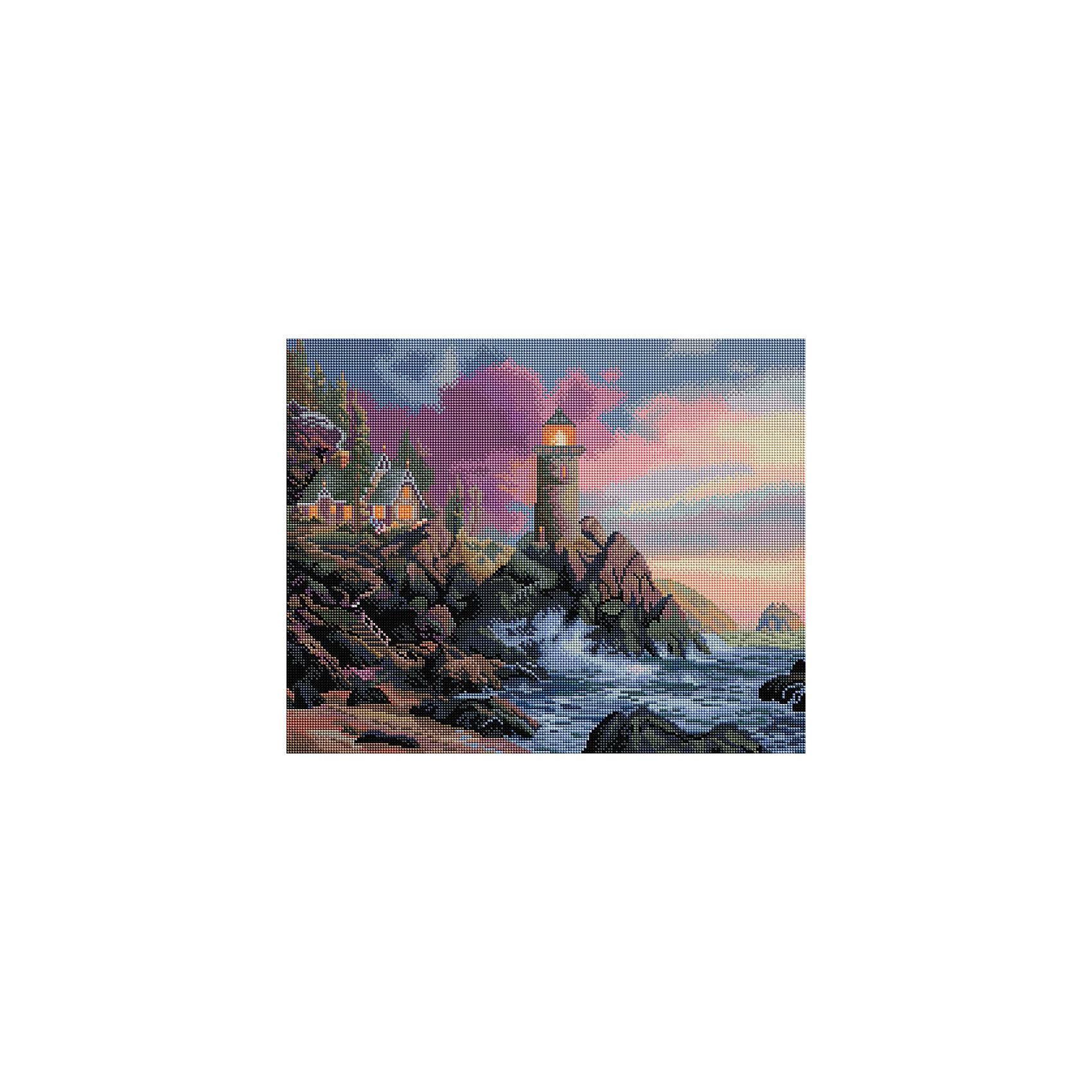 Белоснежка Мозаика на подрамнике Маяк на утесе белоснежка мозаика на подрамнике летний букет 294 st s