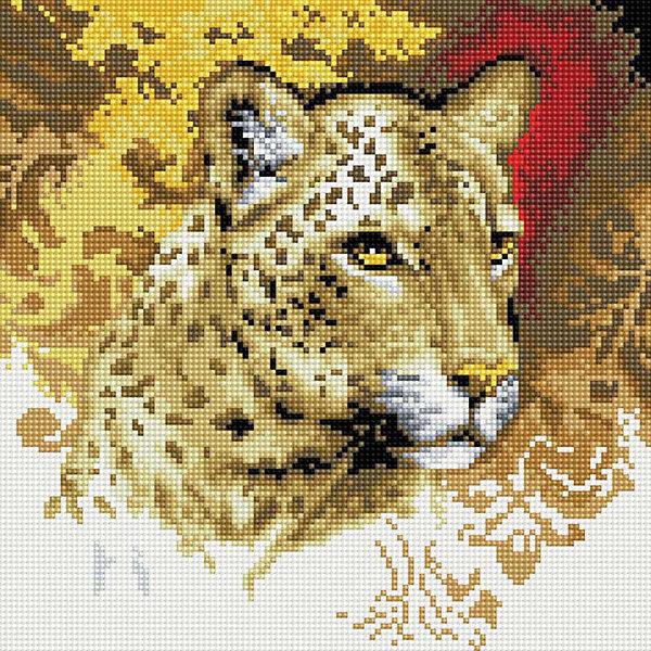 Мозаика на подрамнике Портрет леопардаМозаика детская<br>Мозаика на подрамнике<br><br>Ширина мм: 310<br>Глубина мм: 310<br>Высота мм: 25<br>Вес г: 767<br>Возраст от месяцев: 144<br>Возраст до месяцев: 192<br>Пол: Унисекс<br>Возраст: Детский<br>SKU: 5089774