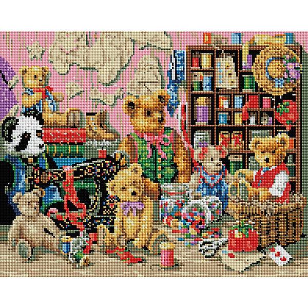 Мозаика на подрамнике Плюшевая коллекцияМозаика детская<br>Мозаика на подрамнике<br>Ширина мм: 410; Глубина мм: 510; Высота мм: 25; Вес г: 1450; Возраст от месяцев: 144; Возраст до месяцев: 192; Пол: Унисекс; Возраст: Детский; SKU: 5089777;