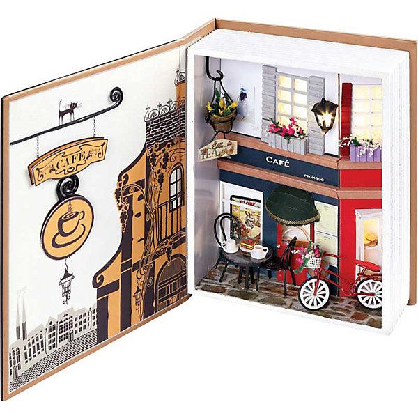 Набор для создания миниатюры Пражское кафеБумага<br>Набор для создания миниатюры Пражское кафе, Белоснежка.<br><br>Характеристики:<br><br>• содержит всё необходимое для создания миниатюры <br>• оригинальный дизайн: книжка-коробочка<br>• в комплекте: основа для миниатюры, клей, ножницы, пинцет, детали интерьера, диодное освещение, пошаговая инструкция. <br>• размер: 15х6х20 см<br><br>Скрапбукинг - интересное и увлекательное занятие. Вы можете создавать красивые детали для украшения интерьера своими руками. Набор Пражское кафе содержит всё необходимое для творчества: элементы декора, мебель, велосипед и даже фонарик никого не оставят равнодушными. Удобные инструменты и пошаговая инструкция помогут не ошибиться в процессе творчества. Все детали разложены в отдельные пакеты. Готовую книгу можно хранить как в открытом, так и в закрытом виде. Готовую миниатюру можно преподнести в подарок или украсить ею свой комнату.<br><br>Набор для создания миниатюры Пражское кафе вы можете купить в нашем интернет-магазине.<br><br>Ширина мм: 200<br>Глубина мм: 150<br>Высота мм: 60<br>Вес г: 669<br>Возраст от месяцев: 72<br>Возраст до месяцев: 144<br>Пол: Женский<br>Возраст: Детский<br>SKU: 5089786
