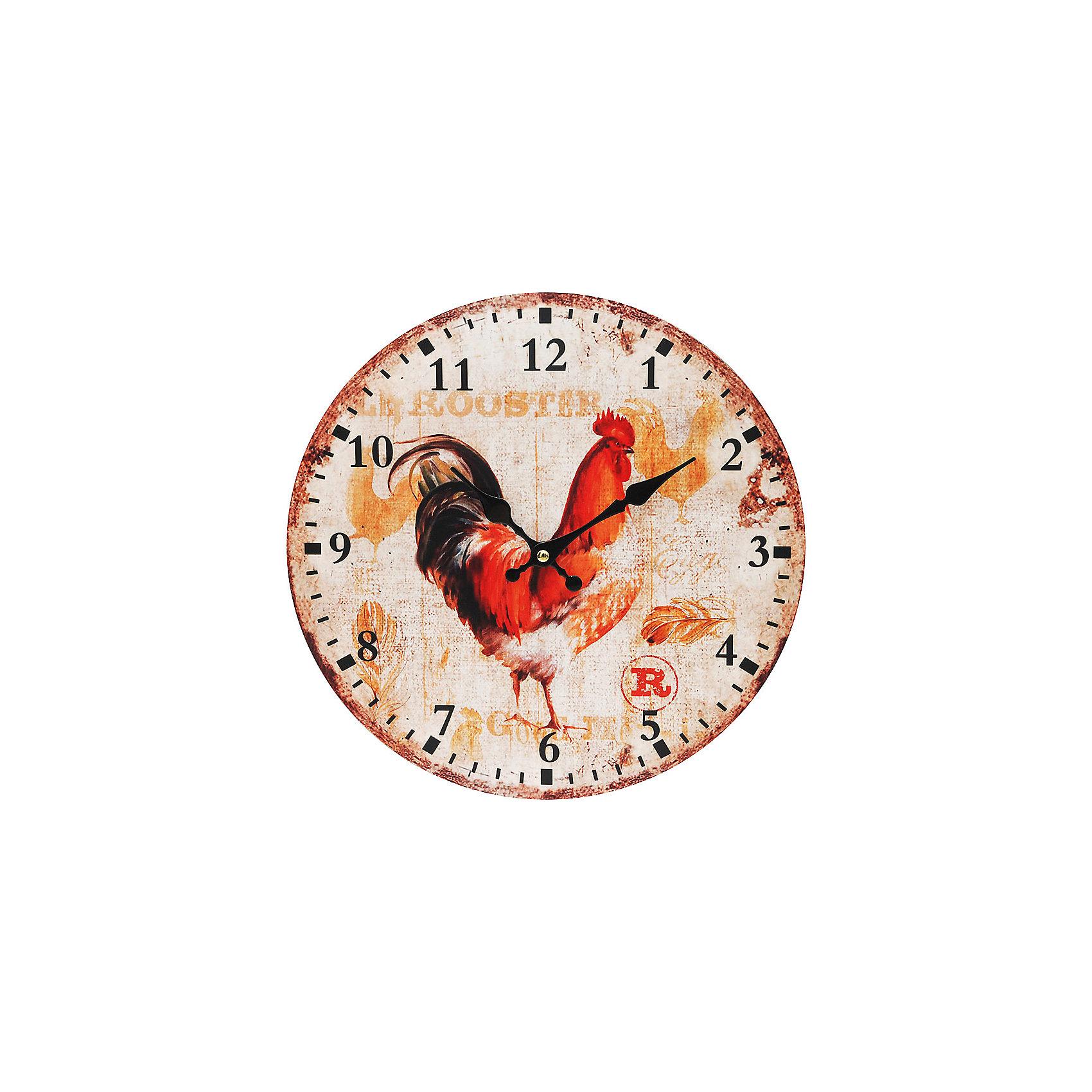 Часы настенные Петушок, диаметр 34 смВсё для праздника<br>Часы<br><br>Ширина мм: 345<br>Глубина мм: 340<br>Высота мм: 45<br>Вес г: 2500<br>Возраст от месяцев: 72<br>Возраст до месяцев: 144<br>Пол: Унисекс<br>Возраст: Детский<br>SKU: 5089817