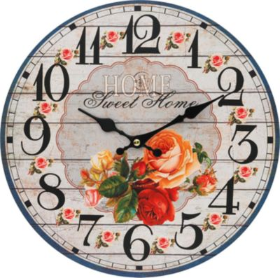 Белоснежка Часы настенные Любимый дом , диаметр 34 см