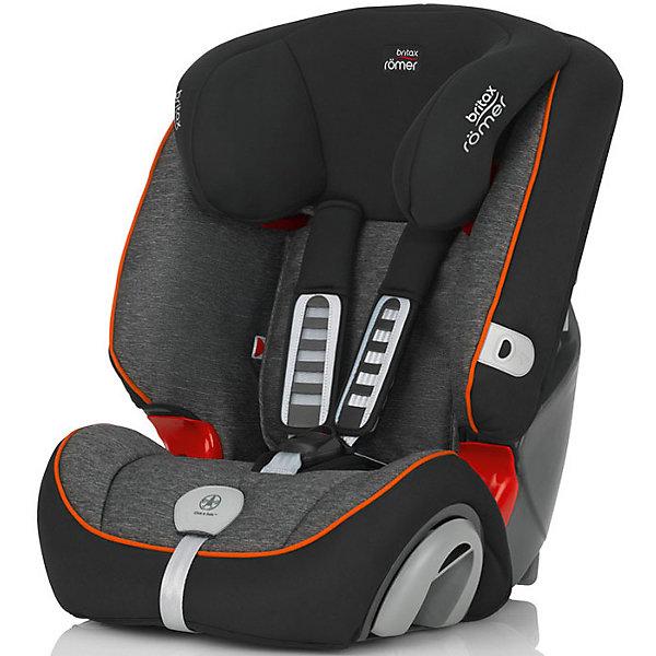 Автокресло Britax Romer EVOLVA 123 Plus 9-36 кг, Black MarbleГруппа 1-2-3  (от 9 до 36 кг)<br>Автокресло EVOLVA 123 Plus 9-36 кг., Britax R?mer (Бритакс Ромер), Black Marble.<br><br>Характеристики:<br><br>• пятиточечные ремни безопасности можно снять<br>• звуковой индикатор закрепления Click&amp;Safe<br>• мягкие регулируемые боковины<br>• система Adjusta-Fit для регулировки внутренних ремней и высоты подголовника<br>• наклон автокресла можно регулировать<br>• ширина спинки регулируется<br>• мягкие плечевые накладки<br>• съемный чехол<br>• есть подстаканники<br>• крепление штатным ремнем<br>• воздухопроницаемые материалы<br>• для детей от 9 до 36 кг<br>• установка по ходу движения<br>• материал: пластик, текстиль<br>• размер: 50х52х61 см<br>• вес: 8 кг<br>• цвет: серый/черный<br><br>Автокресло EVOLVA 123 Plus 9-36 кг., Britax R?mer подходит для детей от 9 месяцев до 12 лет. Подголовник и внутренние ремни безопасности легко регулируются. Кресло оснащено пятиточечными ремнями безопасности, имеющими мягкие накладки на плечи. Накладки обеспечат не только комфорт, но и дополнительную безопасность при столкновении. Также, для комфорта ребенка в кресле предусмотрены регулируемый подголовник, регулируемая ширина спинки, регулируемый наклон кресла. Система Click&amp;Safe оповестит вас о правильном натяжении ремней. Даже дальние поездки в этом автокресле пройдут с комфортом!<br><br>Купить автокресло EVOLVA 123 Plus 9-36 кг., Britax R?mer (Бритакс Ромер), Black Marble вы можете в нашем интернет-магазине.<br>Ширина мм: 500; Глубина мм: 520; Высота мм: 610; Вес г: 8100; Возраст от месяцев: 18; Возраст до месяцев: 144; Пол: Унисекс; Возраст: Детский; SKU: 5089846;