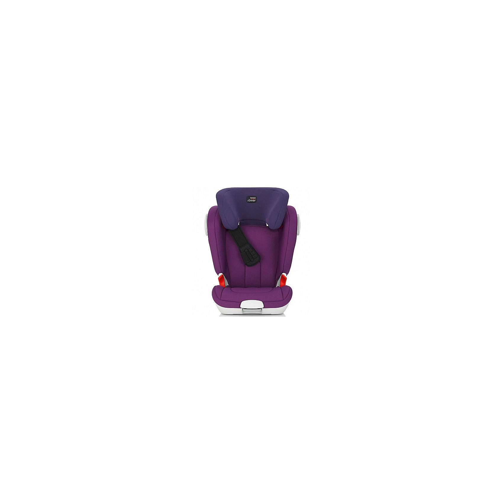 Britax Römer Автокресло KIDFIX XP-SICT 15-36 кг., Britax Römer, Mineral Purple britax römer автокресло kidfix xp 15 36 кг britax römer flame red
