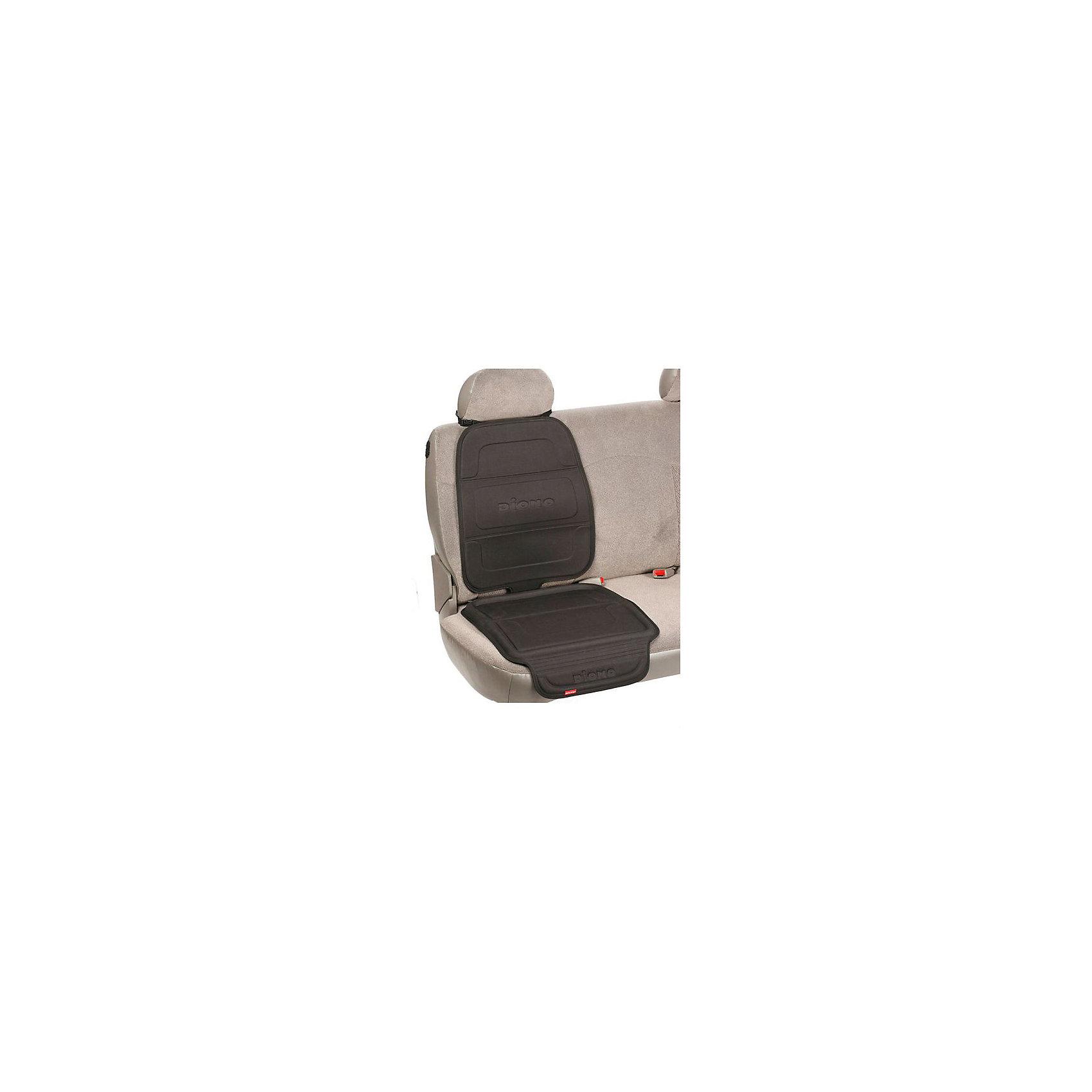 Чехол-накладка для автомобильного сидения Seat Guard Complete, DionoАксессуары<br>Чехол-накладка для автомобильного сидения Seat Guard Complete, Diono создан для защиты авто сидения от возможных загрязнений. В нижней части находится небольшой выступ, чтобы гразь с ботинок ребёнка или пролитые жидкости не испачкали салон автомобиля. Его легко зафиксировать к подголовнику. Можно закрепить на чехол автокресло, что обеспечит более надёжную фиксацию. <br><br>Дополнительная информация:<br>-Марка: Diono<br>-Размер: 58х50 см<br><br>Чехол-накладку для автомобильного сидения Seat Guard Complete, Diono можно приобрести в нашем интернет-магазине.<br><br>Ширина мм: 318<br>Глубина мм: 254<br>Высота мм: 51<br>Вес г: 1100<br>Возраст от месяцев: 0<br>Возраст до месяцев: 144<br>Пол: Унисекс<br>Возраст: Детский<br>SKU: 5089866