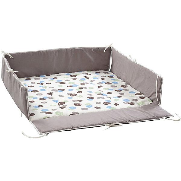 Бампер, простыня для кровати-манеж Lucilee, GeutherДетские манежи<br>Бампер, простыня для кровати-манеж Lucilee, Geuther<br><br>Характеристики:<br>- Материал: хлопок<br>- Наполнитель: полиэстер<br>- Машинная стирка: доступна<br>- Размер: 120 * 33 * 60 см.<br>- Вес: 1 кг.<br>Бампер, простыня для кровати-манеж Lucilee от немецкого бренда, Geuther (Гётер) станет отличным дополнением к вашему манежу, обеспечит мягкость и уют малыша во время игры и сна, а также защитит от сквозняков. Симпатичный дизайн с деталями зеленого, синего и коричневого цветов подойдет как мальчикам, так и девочкам. Нейтральный фон будет хорошо смотреться в любом интерьере комнаты ребенка. Созданный специально для манежа Lucilee (Люсиль), бампер идеально заполняет всю поверхность и фиксируется надежными завязками. Отличное немецкое качество бампера обеспечит необходимую заботу о крохе.<br><br>Бампер, простыня для кровати-манеж Lucilee, Geuther (Гётер) можно купить в нашем интернет-магазине.<br>Подробнее:<br>• Для детей в возрасте: от 0 до 24 месяцев <br>• Номер товара: 5089869<br>Страна производитель: Германия<br><br>Ширина мм: 200<br>Глубина мм: 1060<br>Высота мм: 900<br>Вес г: 1400<br>Возраст от месяцев: 0<br>Возраст до месяцев: 24<br>Пол: Унисекс<br>Возраст: Детский<br>SKU: 5089869