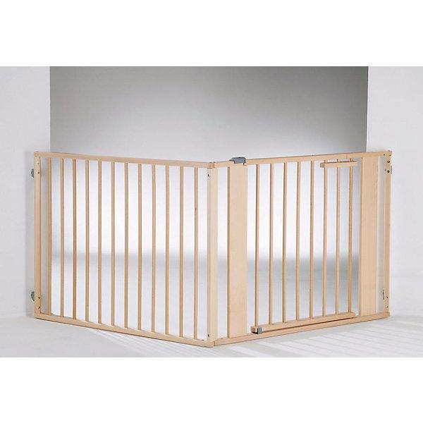 Барьер-ворота 2762 NASI, высота 77 см, Geuther, натуральныйБлокирующие и защитные устройства для дома<br>Барьер-ворота 2762 NASI, высота 77 см, Geuther, натуральный<br><br>Характеристики:<br>- В комплект входит: 2 стенных крепления, 2 удлиняющих части (44 см.), 1 часть с дверью (95 см.), 2 угловых опорных части<br>- Материал: дерево/металл<br>- Высота ограждения: 77 см.<br>- Общая длинна ограждения: от 100 до 180 см.<br><br>Барьер-ворота от немецкого бренда товаров для безопасности детей Geuther (Гётер) поможет ограничить площадь игры ребенка и оградить его от потенциально небезопасных предметов. Эти ворота позволяют отгородить большую площадку для ребенка, оставляя ему много места для игр, в отличие от манежа. Ворота обеспечивают безопасность малыша и позволяют родителям быть спокойными. Цвет натурального светлого дерева отлично вписывается в интерьер и выглядит достаточно стильно. Отличное немецкое качество обеспечивает должную заботу о крохе. <br>Барьер-ворота 2762 NASI, высота 77 см, натуральный, Geuther (Гётер) можно купить в нашем интернет-магазине.<br>Подробнее:<br>• Для детей в возрасте: от 0 до 18 месяцев <br>• Номер товара: 5089885<br>Страна производитель: Германия<br><br>Ширина мм: 1000<br>Глубина мм: 1000<br>Высота мм: 200<br>Вес г: 25000<br>Возраст от месяцев: 0<br>Возраст до месяцев: 24<br>Пол: Унисекс<br>Возраст: Детский<br>SKU: 5089885