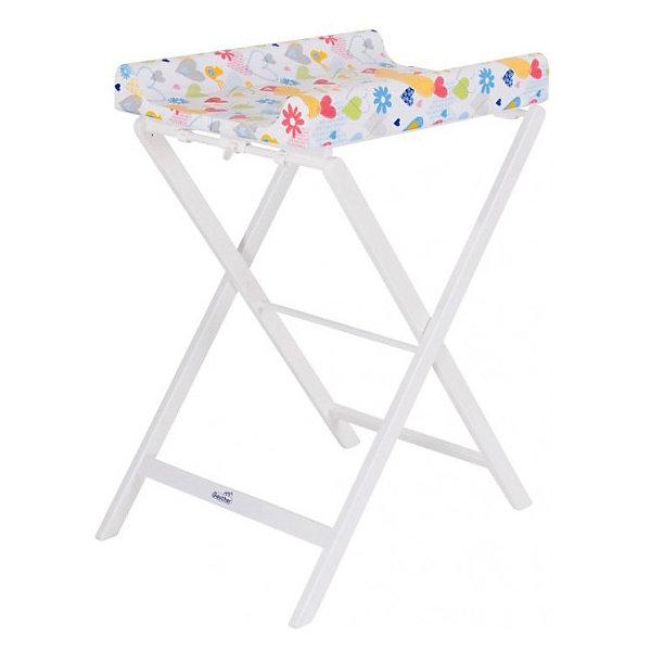 Пеленальный столик TRIXI 4817 NA 37, Geuther, натуральныйПеленальные столы<br>Стол для пеленания TRIXI 4817 NA 37, Geuther (Гётер), натуральный.<br><br>Характеристики:<br><br>• легко складывается<br>• компактный<br>• легко раскладывается<br>• удобная высота<br>• неприхотлив в уходе<br>• есть бортики по бокам<br>• расцветка матрасика: сердечки<br>• размеры в сложенном виде: 56х117х19 см<br>• размеры в разложенном виде: 56х97х70<br>рабочая высота: 91 см<br>• материал: бук, ДСП<br>• максимальная нагрузка: 11 кг<br>• вес: 12 кг<br><br>Стол для пеленания TRIXI 4817 NA 37, Geuther станет оптимальным решением, если вы хотите оставить как можно больше свободного пространства в детской комнате. Стол легко разбирается, собирается и очень компактен в собранном виде. Если стол испачкан - достаточно протереть его влажной тряпочкой Плотные боковые подушки помогут предотвратить падение крохи. Стол TRIXI - идеальный выбор для тех, кто ценит свободное пространство и комфорт малыша.<br><br>Стол для пеленания TRIXI 4817 NA 37, Geuther (Гётер), натуральный можно купить в нашем интернет-магазине.<br>Ширина мм: 560; Глубина мм: 1200; Высота мм: 200; Вес г: 11000; Возраст от месяцев: 0; Возраст до месяцев: 12; Пол: Унисекс; Возраст: Детский; SKU: 5089900;