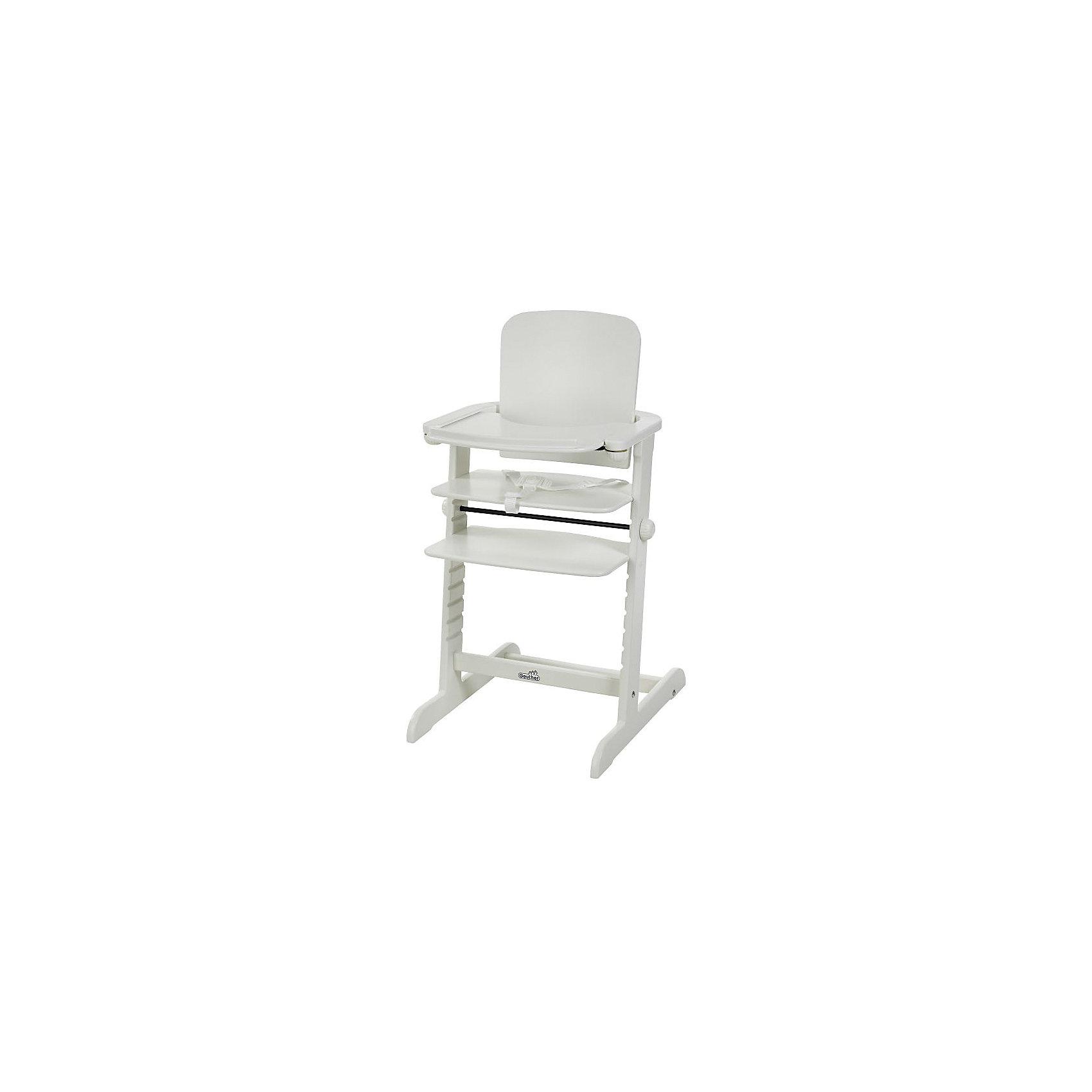 Geuther Стульчик для кормления FAMILY, Geuther, белый столик geuther столик для стульчика geuther tamino белый