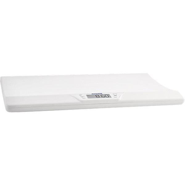 Электронные весы EMYSCALE, MinilandДетские весы<br>Электронные весы EMYSCALE, Miniland (Минилэнд).<br><br>Характеристики:<br><br>• удобный электронный дисплей<br>• сохранение последнего взвешивания<br>• подходит даже для активных детей<br>• максимальная нагрузка: 20 кг<br>• индикатор при превышении допустимого веса<br>• автоматическое отключение<br>• индикатор необходимости замены батареек<br>• материал: пластик<br>• вес: 2 кг<br><br>Электронные весы EMYSCALE, Miniland предназначены для взвешивания детей весом до 20 кг. В случае превышения допустимого веса, весы оповестят вас. Удобные бортики по краям защитят малыша от падения. Использовать весы можно даже если ребенок шевелится, что будет особенно удобно для родителей активных детей. С помощью приложения на смартфоне вы можете следить за графиком веса малыша.<br><br>Электронные весы EMYSCALE, Miniland (Минилэнд) вы можете купить в нашем интернет-магазине.<br><br>Ширина мм: 584<br>Глубина мм: 383<br>Высота мм: 71<br>Вес г: 2036<br>Цвет: белый<br>Возраст от месяцев: 0<br>Возраст до месяцев: 36<br>Пол: Унисекс<br>Возраст: Детский<br>SKU: 5089914