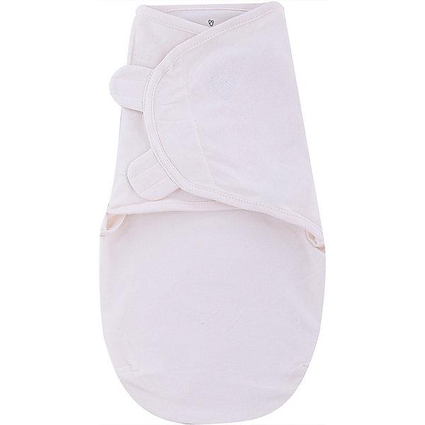Конверт на липучке SwaddleMe Organic®, размер S/M, , Summer Infant, кремовый