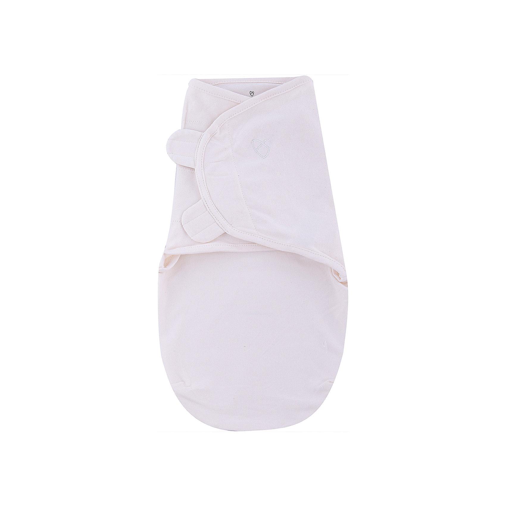 Summer Infant Конверт на липучке SwaddleMe Organic®, размер S/M, , Summer Infant, кремовый цена и фото