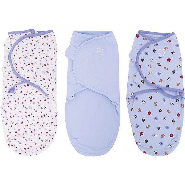 Конверт на липучке SwaddleMe, размер S/M, (3шт), Summer Infant, голубой/спортКонверты для пеленания<br>Конверт на липучке SwaddleMe, размер S/M, (3шт), Summer Infant (Саммер Инфант), голубой/спорт.<br><br>Характеристики:<br><br>• мягкий конверт<br>• обеспечивает спокойный сон ребенка<br>• регулируемые крылья не позволят ребенку распеленаться<br>• регулируется по мере роста ребенка<br>• можно открыть только нижнюю часть для смены подгузника<br>• подходит для колясок и автокресел<br>• размер: S/M<br>• расцветка: голубой/спорт<br>• состав: хлопок, эластан<br>• длина конверта: 50 см<br>• для детей от 3 до 6 кг<br><br>Конверт на липучке SwaddleMe, Summer Infant подарит крохе комфортный и здоровый сон. Мягкий хлопок нежно укутает младенца и создаст ощущение пребывании в мамином животике. Крылья конверта регулируются в зависимости от роста ребенка, что сведет к минимуму возможность распеленаться самостоятельно. Для смены подгузника не обязательно раскрывать конверт полностью, достаточно открыть нижнюю часть.<br><br>Конверт на липучке SwaddleMe, размер S/M, (3шт), Summer Infant (Саммер Инфант), голубой/спорт вы можете приобрести в нашем интернет-магазине.<br>Ширина мм: 30; Глубина мм: 200; Высота мм: 250; Вес г: 300; Возраст от месяцев: 0; Возраст до месяцев: 3; Пол: Унисекс; Возраст: Детский; SKU: 5089932;