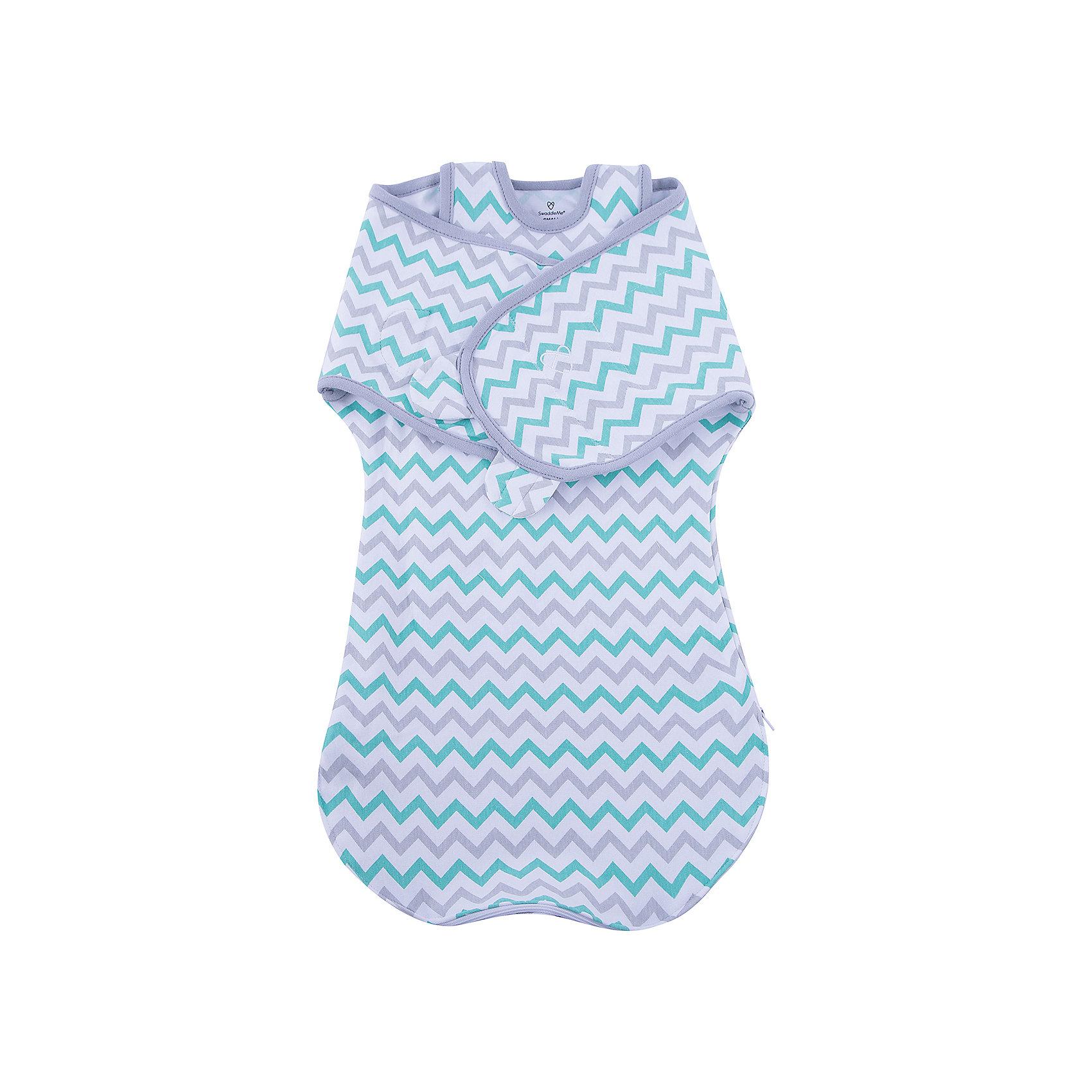 Summer Infant Конверт на липучке с двумя способами фиксации Wrap Sack®, размер S/M, Summer Infant, Зигзаг джинсы sack s sack s mp002xw13pep