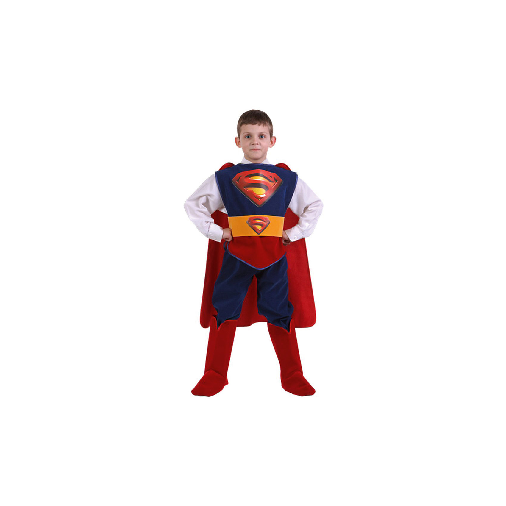 Батик Карнавальный костюм Супермен (Звездный маскарад), Батик купить часы мальчику 7 лет